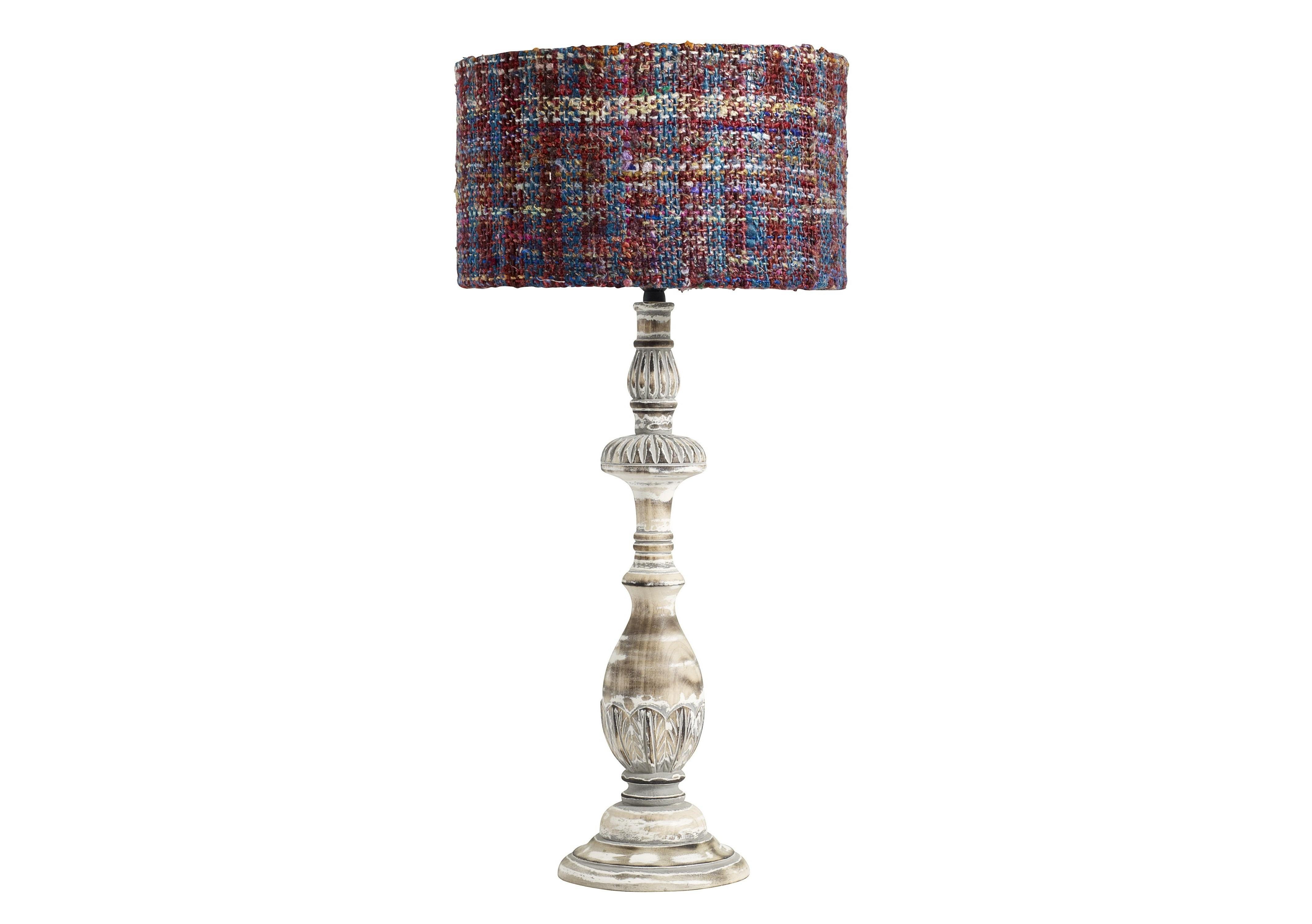 Лампа настольнаяДекоративные лампы<br>Настольная лампа с разноцветным плафоном на белой ножке от датской компании nordal. Создайте уютное освещение в гостиной и спальне в скандинавском стиле.&amp;amp;nbsp;&amp;lt;div&amp;gt;&amp;lt;br&amp;gt;&amp;lt;/div&amp;gt;&amp;lt;div&amp;gt;&amp;lt;div&amp;gt;Цоколь: E27,&amp;amp;nbsp;&amp;lt;/div&amp;gt;&amp;lt;div&amp;gt;Мощность лампы: 60W&amp;amp;nbsp;&amp;lt;/div&amp;gt;&amp;lt;div&amp;gt;Кол-во лампочек: 1 (в комплект не входит)&amp;lt;/div&amp;gt;&amp;lt;/div&amp;gt;&amp;lt;div&amp;gt;&amp;lt;br&amp;gt;&amp;lt;/div&amp;gt;&amp;lt;div&amp;gt;&amp;lt;br&amp;gt;&amp;lt;/div&amp;gt;<br><br>Material: Дерево<br>Height см: 53<br>Diameter см: 15