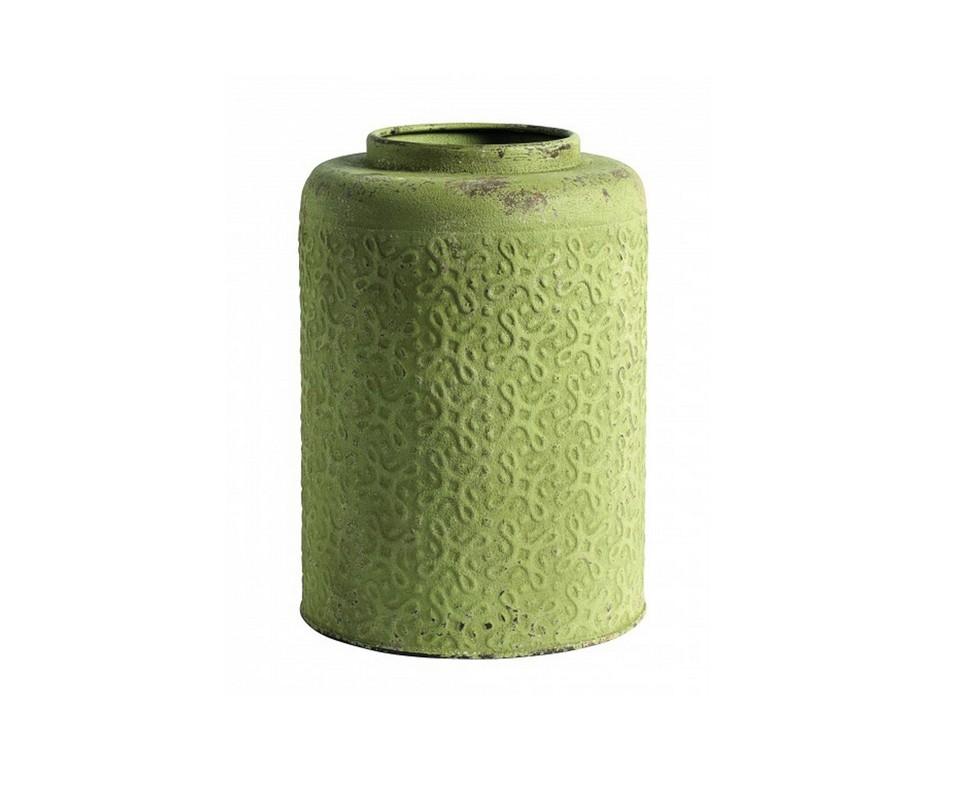 ВазаВазы<br>Ярко-зеленое кашпо для цветов от датской компании nordal. Украсьте гостиную, спальню в скандинавском стиле.<br><br>Material: Металл<br>Height см: 20<br>Diameter см: 28