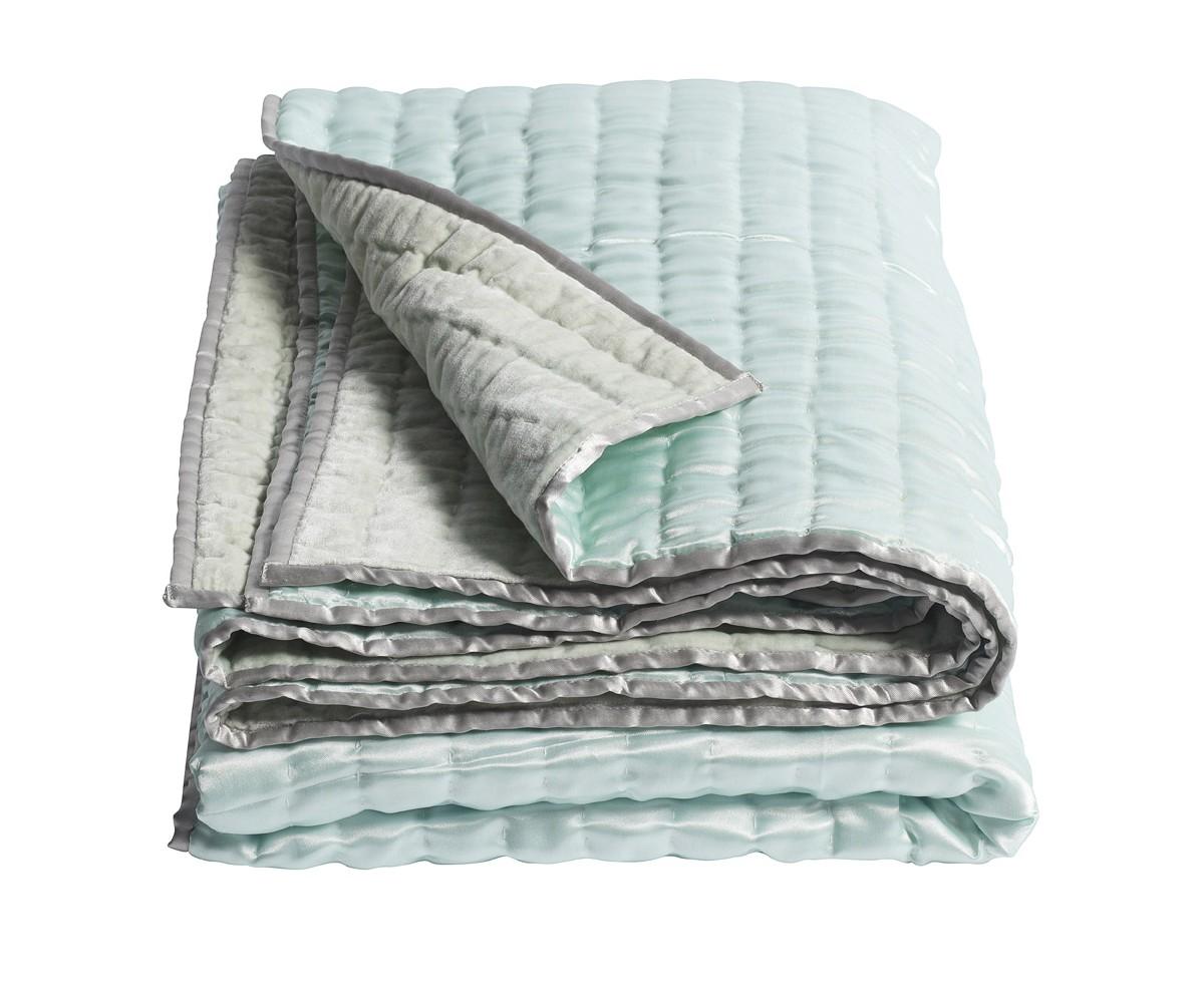 ПокрывалоПокрывала<br>Красивое покрывало голубого цвета от датской компании nordal. Качественный текстиль для гостиной или спальни.<br><br>Material: Текстиль<br>Length см: 210<br>Width см: 140