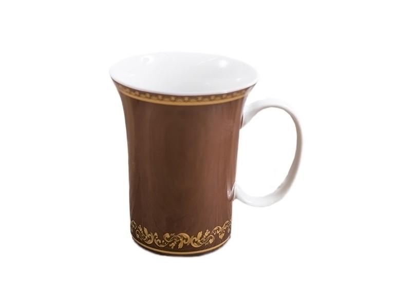 Набор из шести кружек Желтый орнаментКухонные наборы посуды<br>Тонкостенный костяной фарфор считается предметом роскоши и ценится очень высоко. Такой подарок подчеркнет индивидуальность, красоту и тонкий вкус.&amp;amp;nbsp;&amp;lt;div&amp;gt;Набор состоит из шести кружек&amp;lt;/div&amp;gt;<br><br>Material: Фарфор<br>Height см: 10,8<br>Diameter см: 8,9