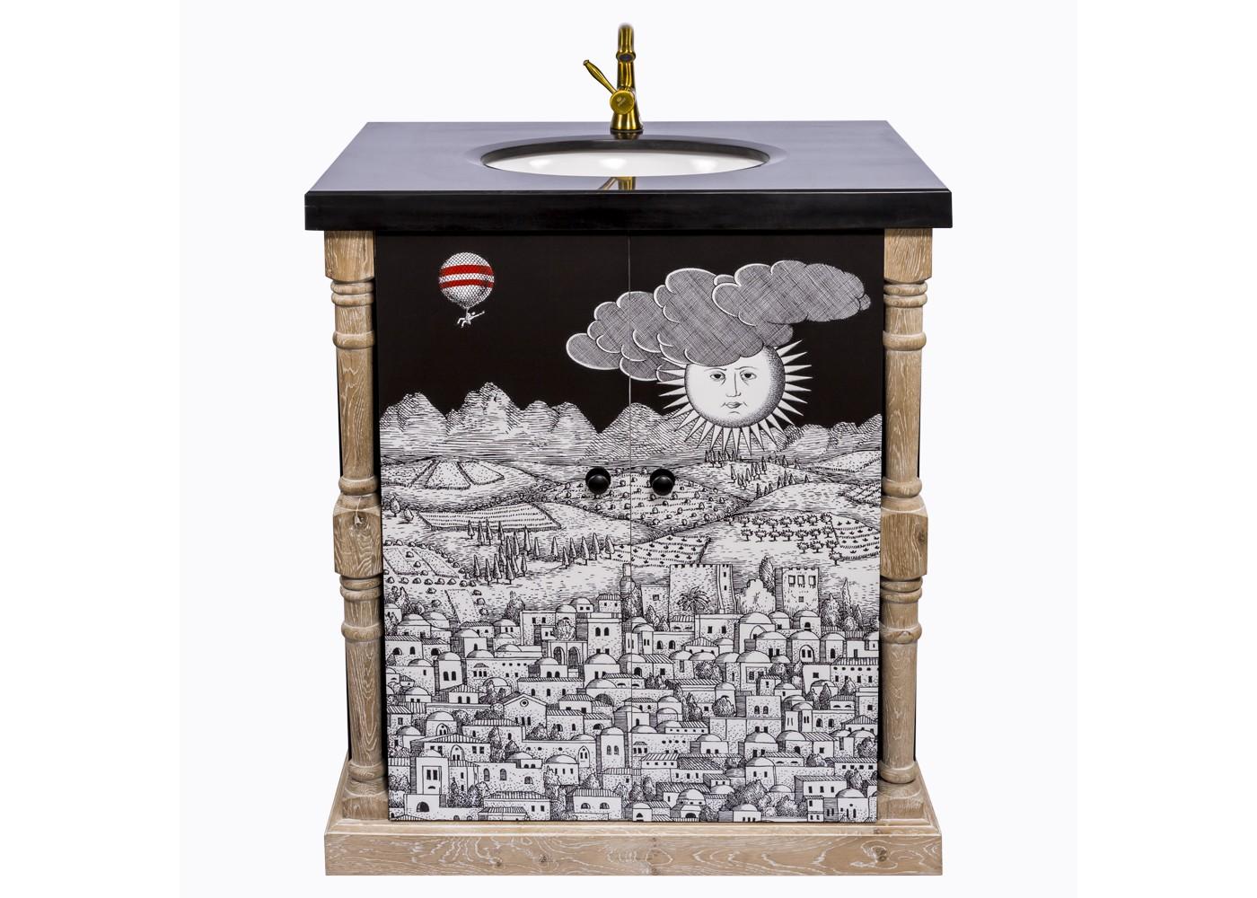 Тумба с раковиной Лина, версия Старый городТумбы для ванной<br>&amp;lt;div&amp;gt;&amp;lt;div&amp;gt;От того, как мы встретим утро, зависит успех и настроение дня, завершенного в уюте удобных и комфортных, семейно-заботливых вещей. Поэтому дизайн для ванной комнаты важен не меньше её технических удобств. Тумба с раковиной &amp;quot;Старый город&amp;quot; обладает для этого достаточным простором, практичностью и долговечностью. Не говоря уже о декоративном креативе, совместившем целую энциклопедию художественных жанров, от французского дворцового классицизма до современного импрессионизма.Помимо дизайнерских достоинств, мебель для ванной комнаты важна прочностью, влагостойкостью и гигиеничностью. Этим важным практическим параметрам полностью отвечает тумба &amp;quot;Старый город&amp;quot;, выполненная из натурального дуба, керамики и мрамора. Природная фактура натурального дерева акцентирована уютной светлой патиной. Ручная работа одухотворяет предметы мебели, вносит эмоции тепла и персональной заботы. Удобством столешницы является прорезь для одного крана (кран в комплект не входит). Не упустите случая обладания уникальной дизайнерской мебелью. Версия &amp;quot;Старый город&amp;quot; выпущена лимитированными экземплярами.&amp;amp;nbsp;&amp;lt;/div&amp;gt;&amp;lt;div&amp;gt;&amp;lt;br&amp;gt;&amp;lt;/div&amp;gt;&amp;lt;div&amp;gt;Материал: массив дуба, мдф, мрамор, керамика.&amp;lt;/div&amp;gt;&amp;lt;/div&amp;gt;&amp;lt;div&amp;gt;&amp;lt;br&amp;gt;&amp;lt;/div&amp;gt;<br><br>&amp;lt;iframe width=&amp;quot;530&amp;quot; height=&amp;quot;360&amp;quot; src=&amp;quot;https://www.youtube.com/embed/pYyhIontOYI&amp;quot; frameborder=&amp;quot;0&amp;quot; allowfullscreen=&amp;quot;&amp;quot;&amp;gt;&amp;lt;/iframe&amp;gt;<br><br>Material: Дуб<br>Ширина см: 90.0<br>Высота см: 80.0<br>Глубина см: 60.0