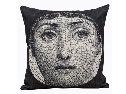 Арт-подушка лина , версия мозаика (object desire) черный 45.0x15.0x15 см.