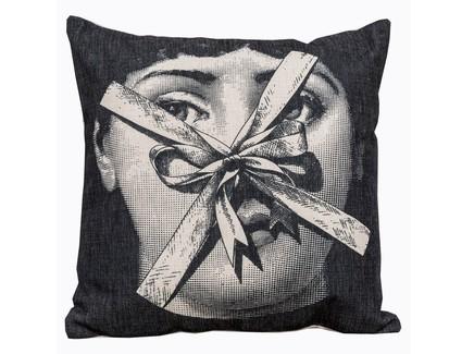 Арт-подушка лина , версия презент (object desire) черный 45.0x15.0x15 см.
