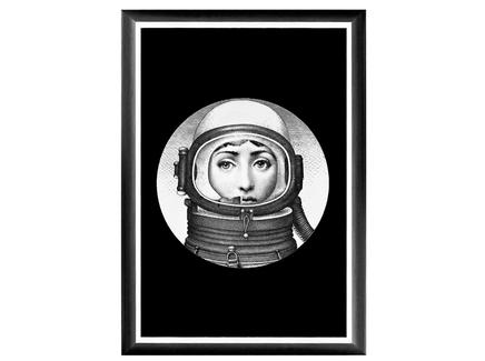 """Арт-постер """"Лина"""", версия """"Космос"""""""