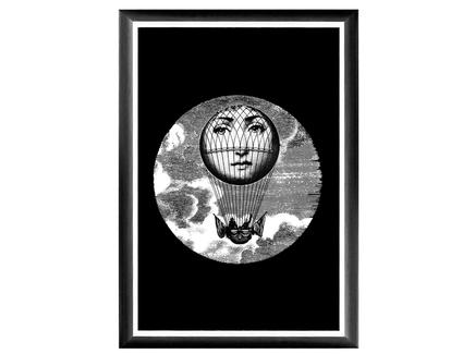 Арт-постер лина , версия монгольфьер (object desire) 46.0x66.0x2.0 см.