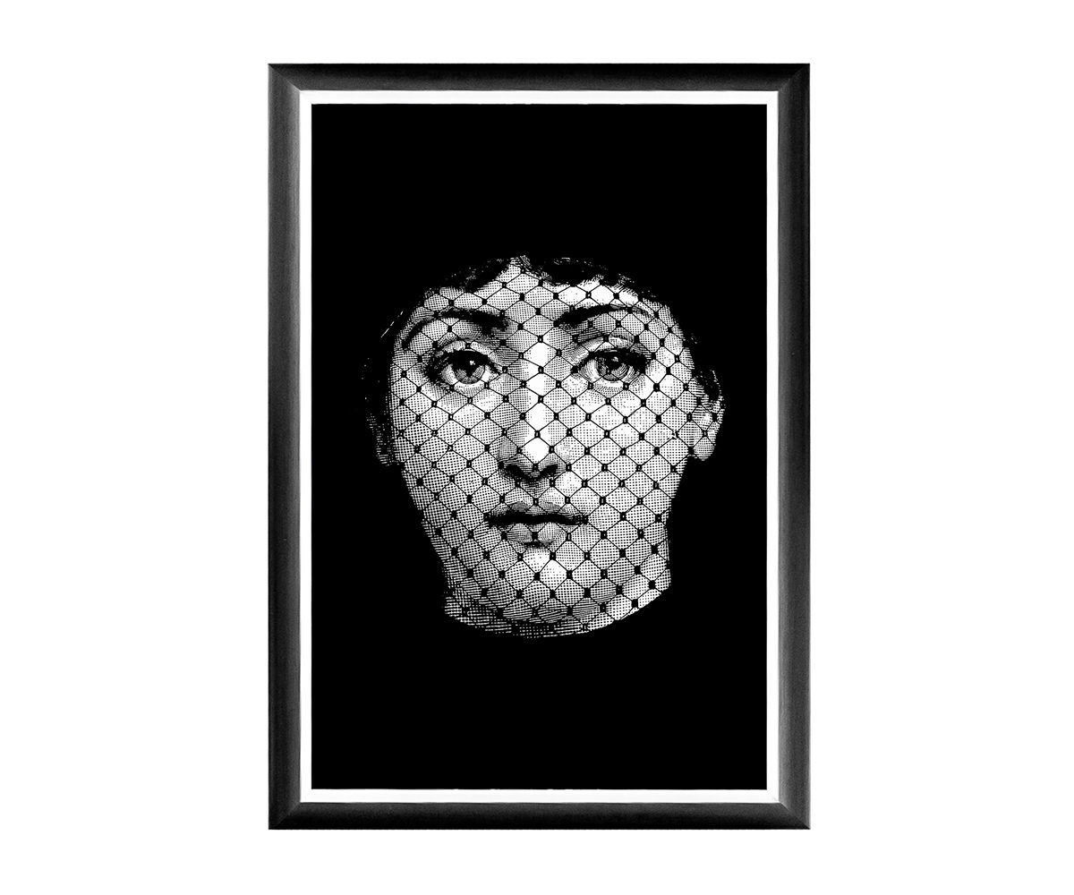 "Object Desire Арт-постер ""Лина"", версия ""Вуаль"""