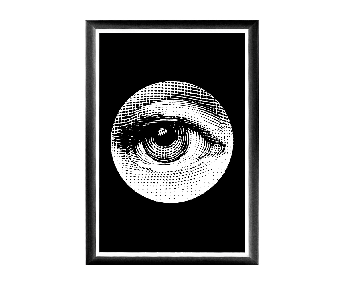 Арт-постер Монокль Fornasetti