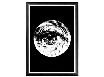 Арт-постер лина , версия монокль (object desire) 46.0x66.0x2.0 см.