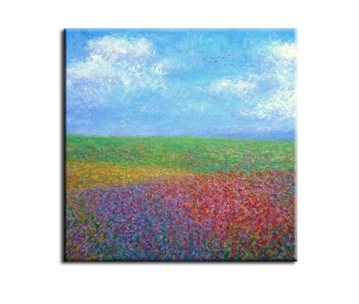 Muzante Картина Цветочное поле