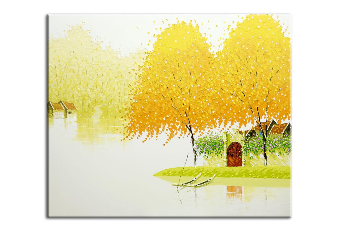 Картина Молочная осеньКартины<br>Авторская копия картины вьетнамской художницы Phan Thu Trang в технике жекле.&amp;lt;div&amp;gt;&amp;lt;br&amp;gt;&amp;lt;/div&amp;gt;&amp;lt;div&amp;gt;Материал: натуральный холст, деревянный подрамник, лак,итальянский фактурный гель.&amp;lt;br&amp;gt;&amp;lt;/div&amp;gt;<br><br>Material: Холст<br>Width см: 60<br>Depth см: 3<br>Height см: 50