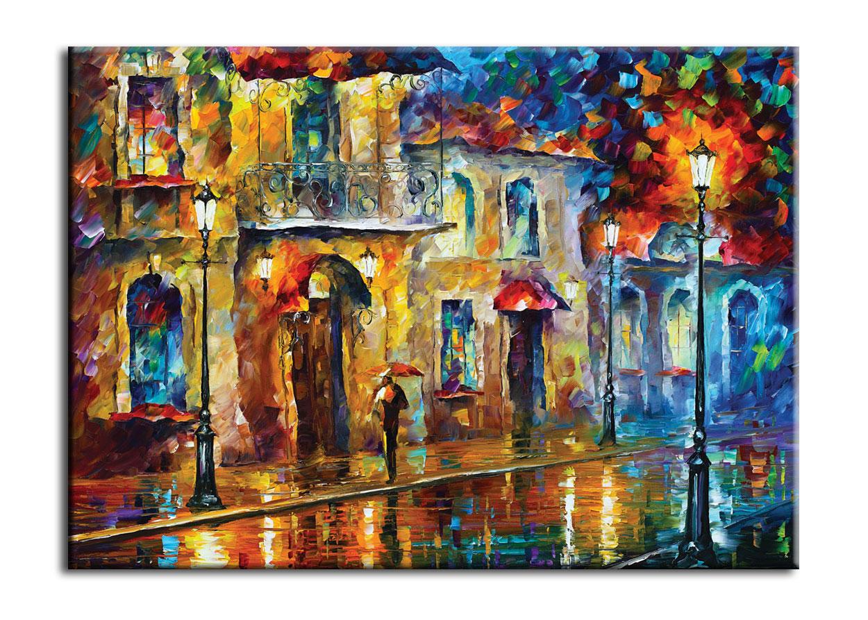 Картина Поездка по ночному городуКартины<br>Авторская копия картины Леонида Афремова в технике жекле.&amp;lt;div&amp;gt;&amp;lt;br&amp;gt;&amp;lt;/div&amp;gt;&amp;lt;div&amp;gt;Материал: натуральный холст, деревянный подрамник, лак,итальянский фактурный гель.&amp;lt;br&amp;gt;&amp;lt;/div&amp;gt;<br><br>Material: Холст<br>Width см: 60<br>Depth см: 3<br>Height см: 40