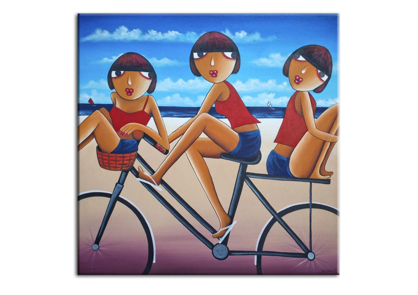 Картина На пляжКартины<br>Авторская копия картины балийского художника Krisna с декоративной фактурной обработкой&amp;lt;div&amp;gt;&amp;lt;br&amp;gt;&amp;lt;/div&amp;gt;&amp;lt;div&amp;gt;Материал: натуральный холст, деревянный подрамник, лак,итальянский фактурный гель&amp;lt;br&amp;gt;&amp;lt;/div&amp;gt;<br><br>Material: Холст<br>Width см: 50<br>Depth см: 3<br>Height см: 50