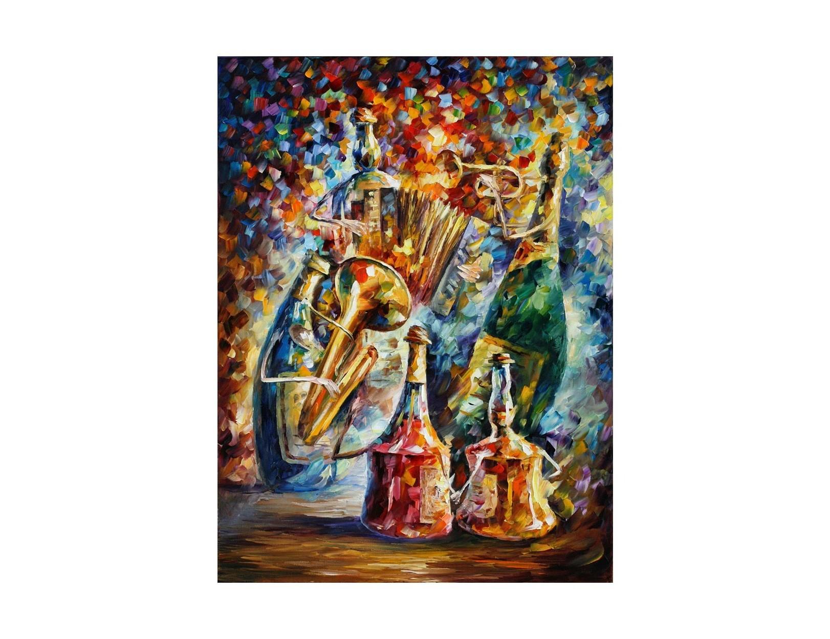 Картина Боттл джазКартины<br>Авторская копия картины Леонида Афремова в технике жекле.&amp;lt;div&amp;gt;&amp;lt;br&amp;gt;&amp;lt;/div&amp;gt;&amp;lt;div&amp;gt;Материал: натуральный холст, деревянный подрамник, лак,итальянский фактурный гель.&amp;lt;br&amp;gt;&amp;lt;/div&amp;gt;<br><br>Material: Холст<br>Width см: 40<br>Depth см: 3<br>Height см: 50