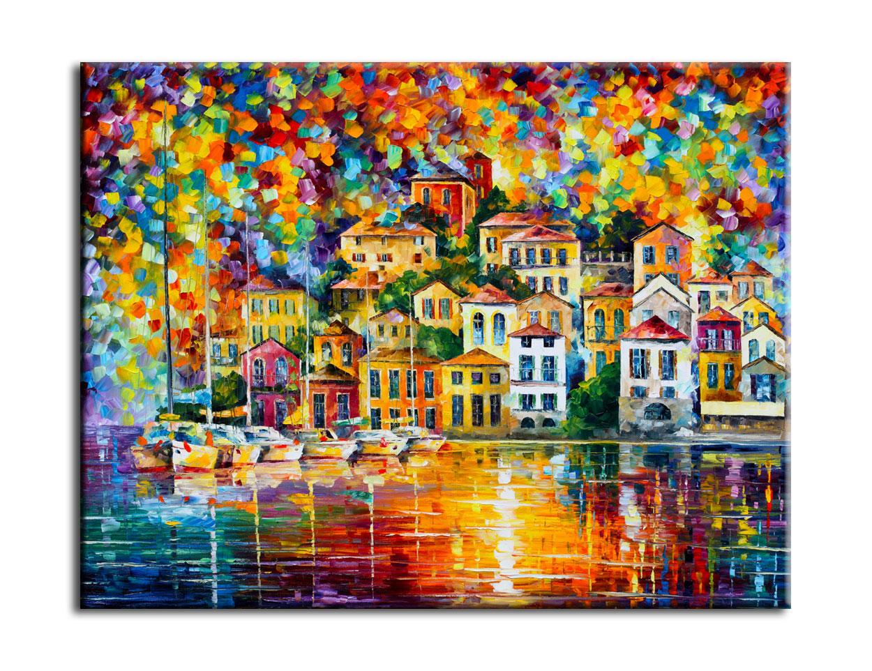 Muzante Картина Яхты Неаполя