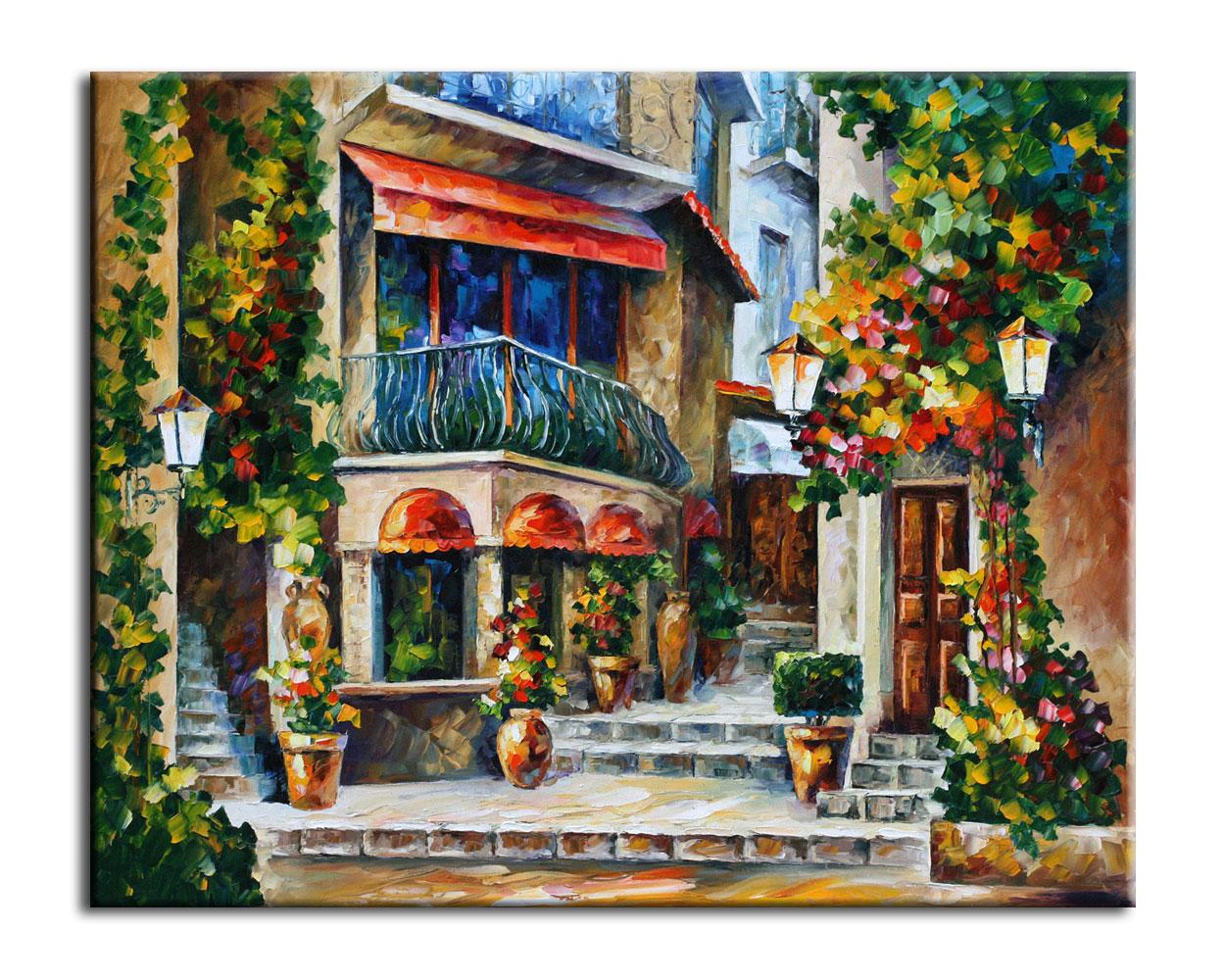 Картина Веченнее утро в СицилииКартины<br>Авторская копия картины Леонида Афремова в технике жекле.&amp;lt;div&amp;gt;&amp;lt;br&amp;gt;&amp;lt;/div&amp;gt;&amp;lt;div&amp;gt;Материал: натуральный холст, деревянный подрамник, лак,итальянский фактурный гель.&amp;lt;br&amp;gt;&amp;lt;/div&amp;gt;<br><br>Material: Холст<br>Width см: 50<br>Depth см: 3<br>Height см: 40
