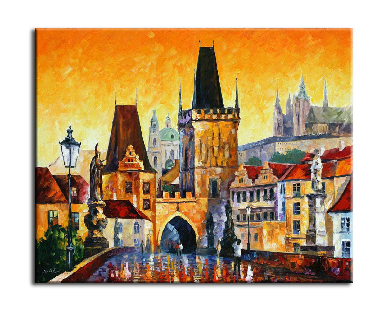 картина-прага-старый-город
