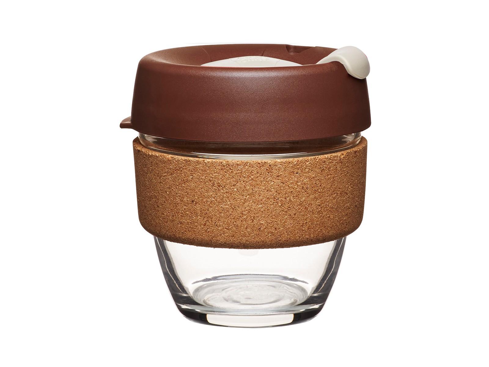 Кружка Keepcup almond limitedЧайные пары, чашки и кружки<br>Главная идея KeepCup – вдохновить любителей кофе отказаться от использования одноразовых бумажных и пластиковых стаканов, так как их производство и утилизация наносят вред окружающей среде. В год производится и выбрасывается около 500 миллиардов одноразовых стаканчиков, а ведь планета у нас всего одна! <br>Но главный плюс кружки  – привлекательный дизайн, который станет отражением вашего личного стиля. Берите её в кафе или наливайте кофе, чай, сок дома, чтобы взять с собой - пить вкусные напитки на ходу, на работе или на пикнике. Специальная крышка с открывающимся и закрывающимся клапаном спасет от брызг, плотный ободок поможет не обжечься (плюс, удобно держать кружку в руках.<br>Крышка сделана без содержания вредного бисфенола (BPA-free). Корпус - из закаленного стекла, устойчивого к термическому и механическому воздействию.&amp;lt;div&amp;gt;&amp;lt;br&amp;gt;&amp;lt;/div&amp;gt;&amp;lt;div&amp;gt;Объем: 227 мл.&amp;lt;br&amp;gt;&amp;lt;/div&amp;gt;<br><br>Material: Стекло<br>Height см: 10<br>Diameter см: 8