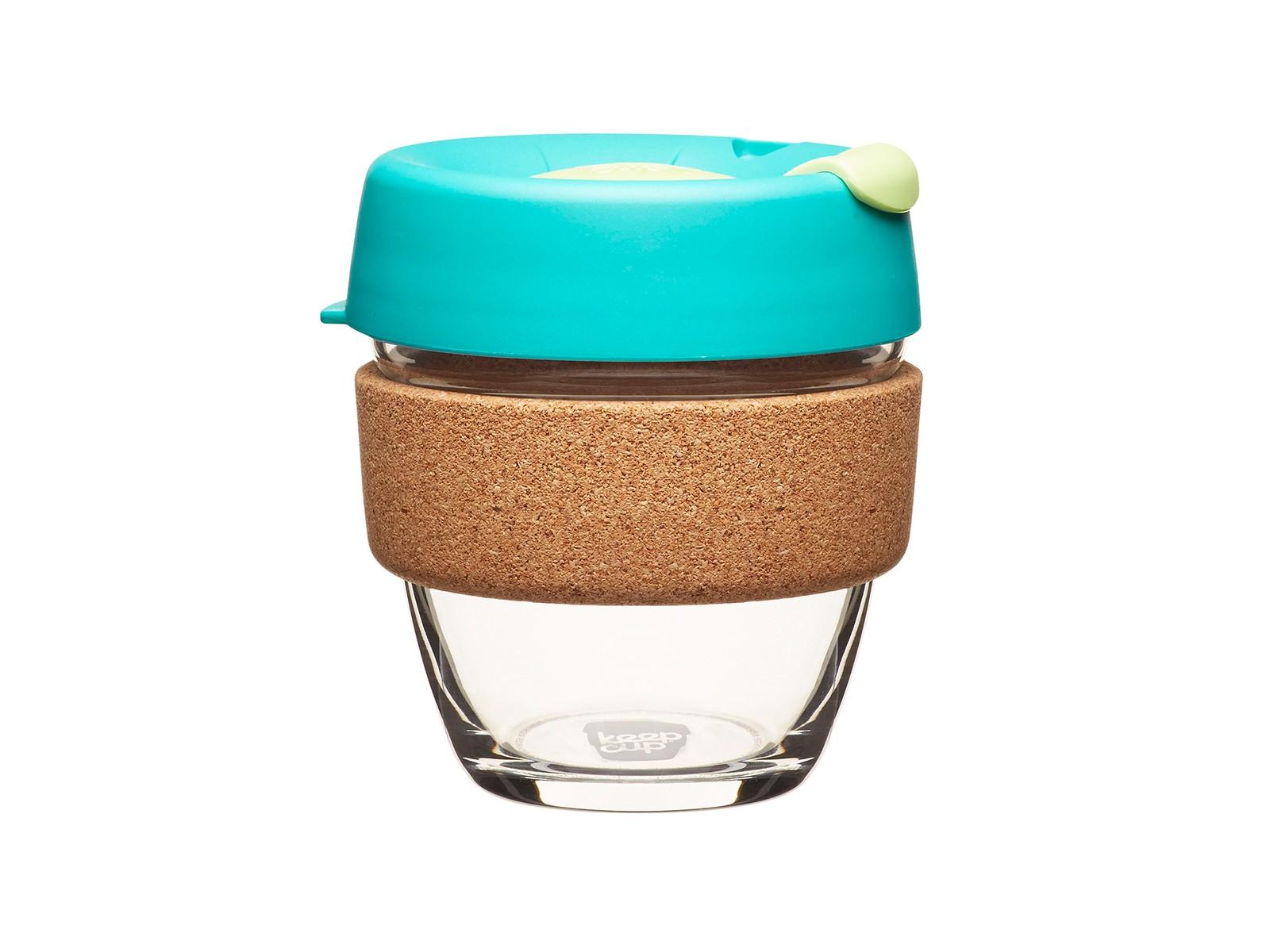 Кружка Keepcup thymeЧайные пары и чашки<br>Главная идея KeepCup – вдохновить любителей кофе отказаться от использования одноразовых бумажных и пластиковых стаканов, так как их производство и утилизация наносят вред окружающей среде. В год производится и выбрасывается около 500 миллиардов одноразовых стаканчиков, а ведь планета у нас всего одна! <br>Но главный плюс кружки  – привлекательный и яркий дизайн, который станет отражением вашего личного стиля. Берите ее в кафе или наливайте кофе, чай, сок дома, чтобы взять с собой - пить вкусные напитки на ходу, на работе или на пикнике. Специальная крышка с открывающимся и закрывающимся клапаном спасет от брызг, ободок из пробкового дерева (ограниченная серия) поможет не обжечься, плюс удобно держать кружку в руках, а плотная крышка и толстые стенки сохранят напиток теплым в течение 20-30 минут. <br>Крышка сделана из нетоксичного пластика без содержания вредного бисфенола (BPA-free) и прочного стекла. Можно использовать в микроволновой печи и мыть в посудомоечной машине. Разработана и произведена в Австралии.&amp;lt;div&amp;gt;&amp;lt;br&amp;gt;&amp;lt;/div&amp;gt;&amp;lt;div&amp;gt;Объем: 227 мл.&amp;lt;br&amp;gt;&amp;lt;/div&amp;gt;<br><br>Material: Стекло<br>Height см: 10,9<br>Diameter см: 8,8