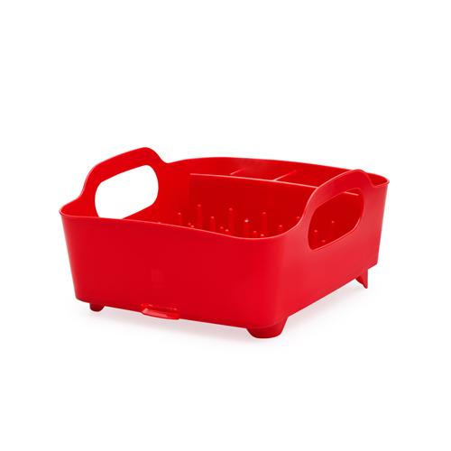 Сушилка для посуды TubАксессуары для кухни<br>Компактный дизайн сушилки  Tub  создает огромное пространство для хранения и сушки посуды. Несколько отсеков, которые позволяют  уместить   приборы, чашки,  тарелки  и при этом они все будут на своем месте.  А благодаря ножкам, вода не будет  застаиваться под  сушилкой,  а это, согласитесь, очень важно!<br><br>Material: Пластик<br>Width см: 38<br>Depth см: 35<br>Height см: 19