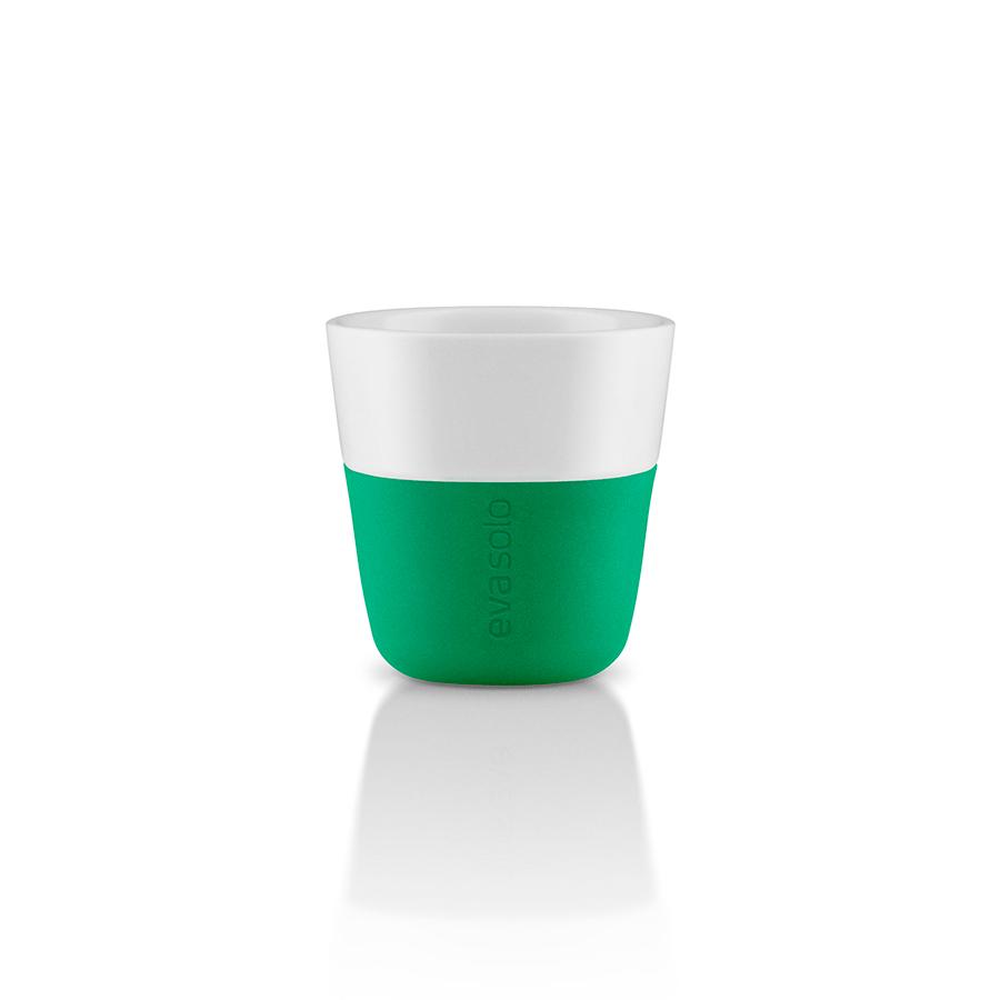 Чашки для эспрессо (2 шт)Чайные пары и чашки<br>Чашка для эспрессо от Eva Solo рассчитана на 80 мл - классическое количество эспрессо, а также стандарт для большинства кофе-машин. Чашка сделана из фарфора и имеет специальный силиконовый чехол, чтобы её можно было держать в руках, не рискуя обжечь пальцы. Чехол легко снимается, и чашку можно мыть в посудомоечной машине. Умные и красивые предметы посуды от Eva Solo будут украшением любой кухни!&amp;lt;div&amp;gt;&amp;lt;br&amp;gt;&amp;lt;/div&amp;gt;&amp;lt;div&amp;gt;&amp;lt;br&amp;gt;&amp;lt;/div&amp;gt;<br><br>Material: Фарфор<br>Height см: 6<br>Diameter см: 6