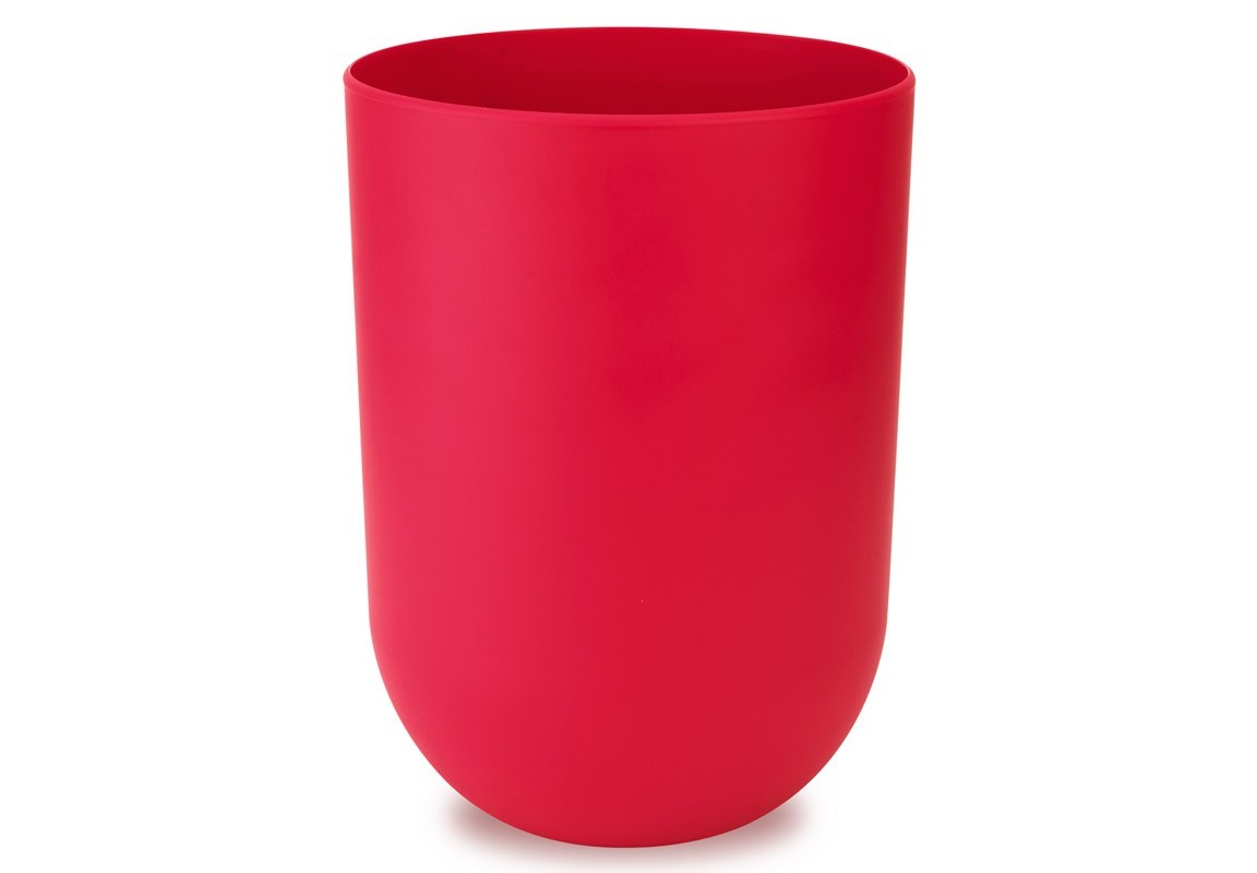 Контейнер мусорный TouchЕмкости для хранения<br>Как много всего ненужного можно обнаружить на столе: скомканные бумаги для заметок, упаковки от шоколадок, старые скрепки и скобы для степлера. Отправьте весь этот хлам в мусорное ведро, чтобы сделать жизнь чище и упорядоченнее. Лаконичный и простой контейнер Touch не займет много места и будет прилежно исполнять свои обязанности по накоплению мусора.<br><br>Material: Пластик<br>Height см: 26<br>Diameter см: 19,1