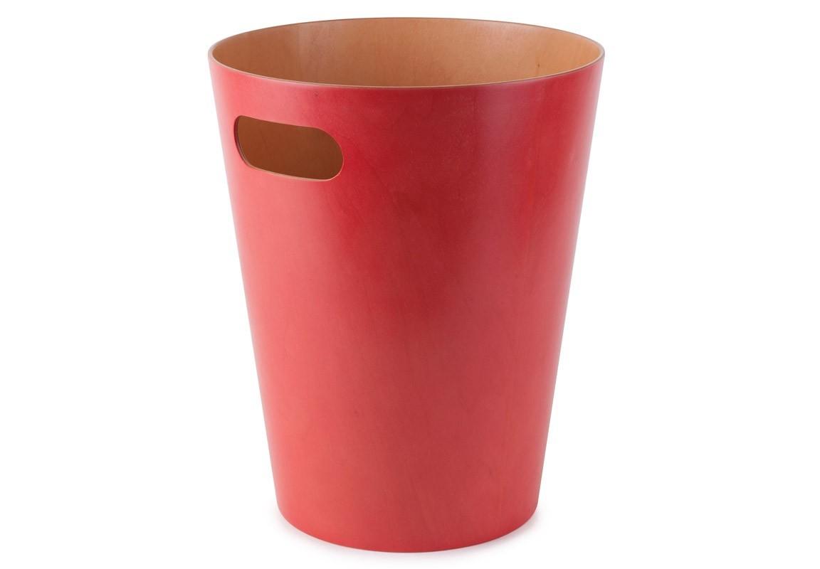 Контейнер мусорный WoodrowЕмкости для хранения<br>Как много всего ненужного можно обнаружить на столе: скомканные бумаги для заметок, упаковки от шоколадок, старые скрепки и скобы для степлера. Отправьте весь этот хлам в мусорное ведро, чтобы сделать жизнь чище и упорядоченнее. Лаконичный и простой контейнер Woodrow не займет много места и будет прилежно исполнять свои обязанности по накоплению мусора. Красиво сочетает в себе фактуру простого и окрашенного дерева.&amp;amp;nbsp;&amp;lt;div&amp;gt;&amp;lt;br&amp;gt;&amp;lt;/div&amp;gt;&amp;lt;div&amp;gt;Вместительность - 9 литров.&amp;lt;/div&amp;gt;<br><br>Material: Дерево<br>Height см: 27,9<br>Diameter см: 22,9
