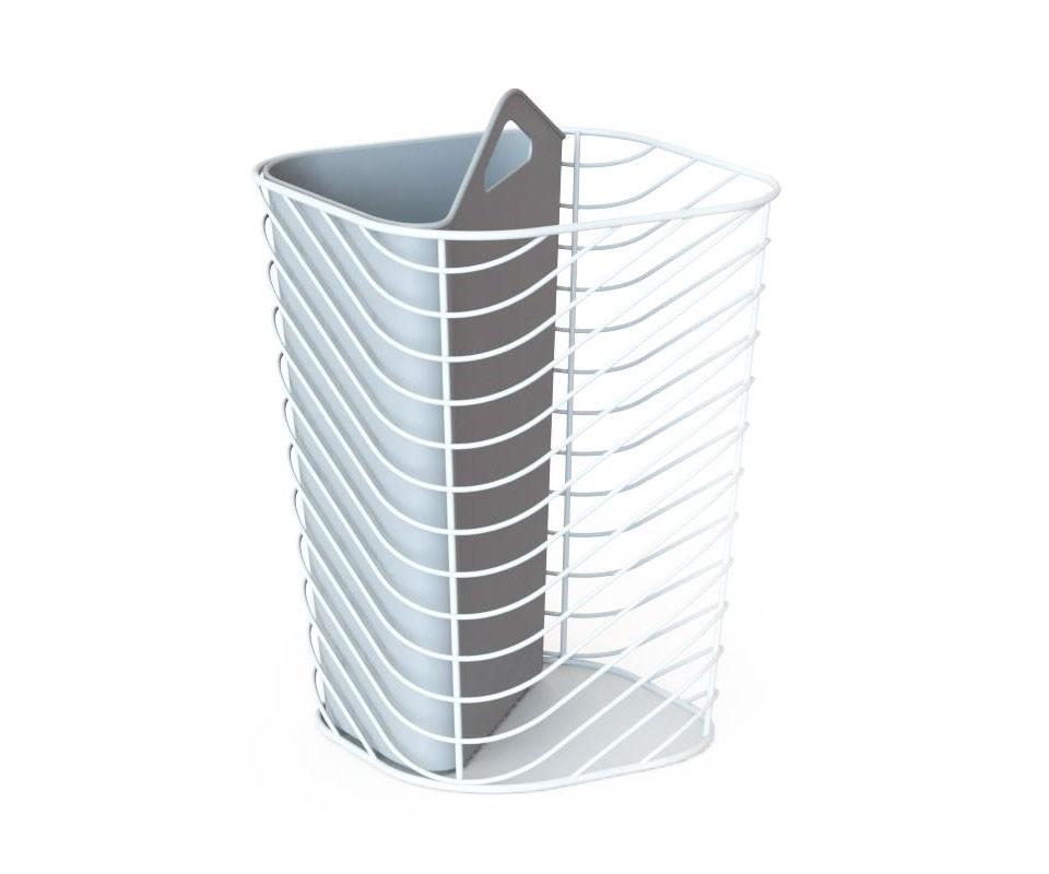 Контейнер мусорный CoupletЕмкости для хранения<br>Даже мусорный контейнер может быть стильным. Изящный металлический каркас и внутренний пластиковый отдел позволят разделять мусор по типам. Такой контейнер смотрится оригинально и не выглядит массивным благодаря воздушной конструкции. Пластиковый отдел легко вынимается для чистки.&amp;amp;nbsp;&amp;lt;div&amp;gt;&amp;lt;br&amp;gt;&amp;lt;/div&amp;gt;&amp;lt;div&amp;gt;Вместимость 16 литров.&amp;lt;/div&amp;gt;<br><br>Material: Металл<br>Width см: 26<br>Depth см: 26<br>Height см: 38