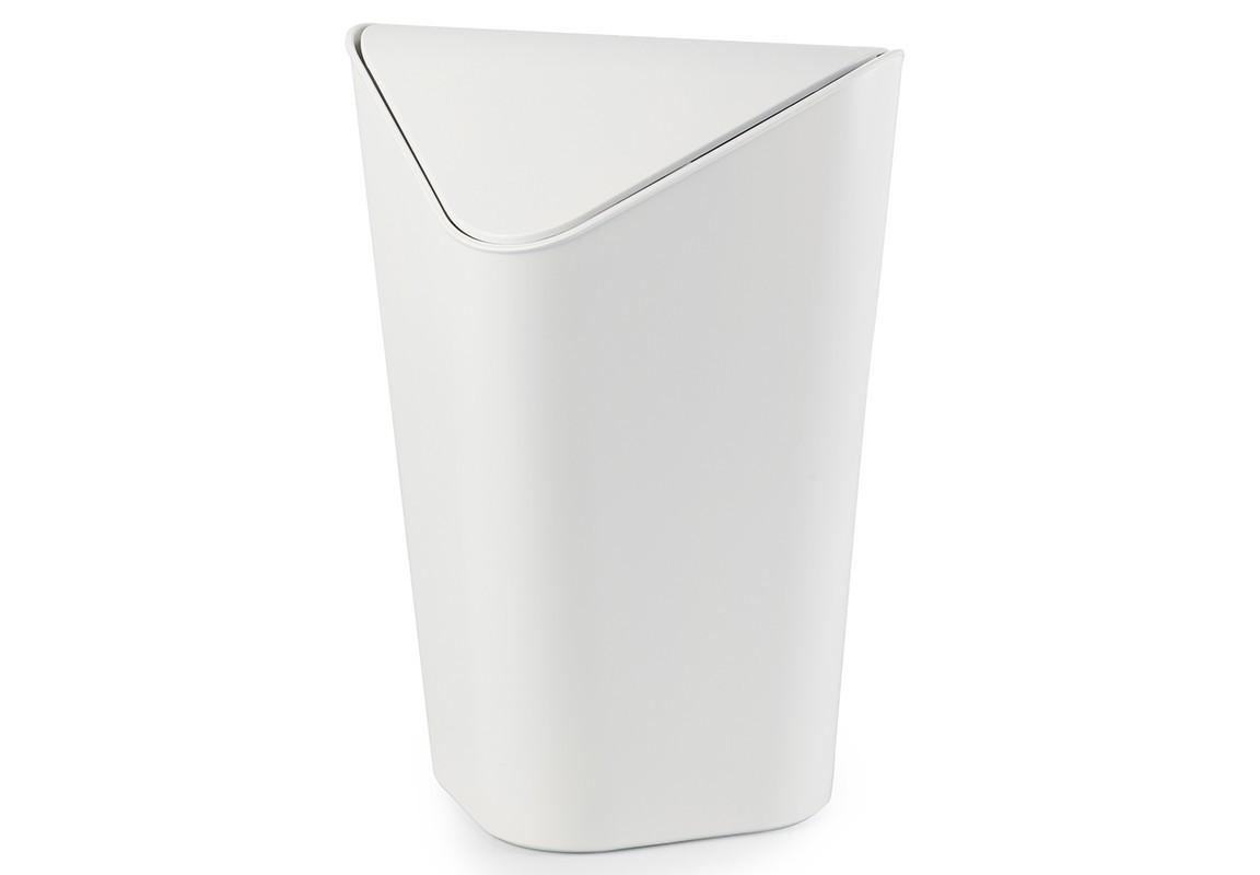 Корзина для мусора угловая CornerЕмкости для хранения<br>Отсутствие пространства - проблема вашего дома? Ничего, ведь есть компактная и удобная корзина для мусора, которая сэкономит место даже в самых маленьких помещениях. Ванная комната, туалет, кабинет или кухня - уголок найдется везде. Удобная качающаяся крышка обеспечивает простоту использования и очистки корзины. Пожалуй, вы сами удивитесь, как обходились без такой удобной вещи!&amp;amp;nbsp;&amp;lt;div&amp;gt;&amp;lt;br&amp;gt;&amp;lt;/div&amp;gt;&amp;lt;div&amp;gt;Объем - 10 литров.&amp;lt;/div&amp;gt;<br><br>Material: Пластик<br>Width см: 27,9<br>Depth см: 25,9<br>Height см: 36,5