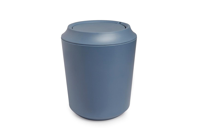 Корзина для мусора FibooЕмкости для хранения<br>Корзина для мусора из комбинированного материала (меламин и бамбуковое волокно), который отличает экологичность, износостойкость и уникальный матовый эффект. Удобная вращающаяся крышка легко снимается для смены пакета для мусора.<br><br>Дизайн: Wesley Chau<br><br>Material: Пластик<br>Высота см: 24