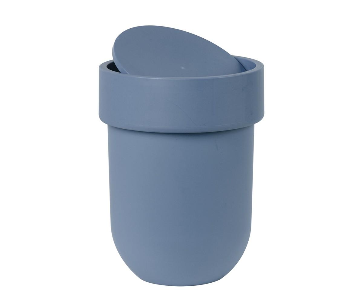 Корзина для мусора с крышкой TouchЕмкости для хранения<br>Лаконичный и простой контейнер из полипропилена. Оснащен удобной крышкой, которая аккуратно скрывает мусор.<br><br>Дизайн: Alan Wisniewski<br><br>Material: Пластик<br>Height см: 30<br>Diameter см: 19,5