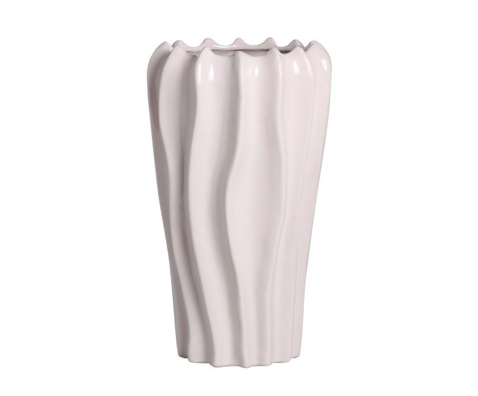 Ваза  декоративнаяВазы<br>Дизайнерская ваза, выполненная из особой белой глины высочайшего качества. Нежные линии делают ее похожей на причудливый цветок, она кажется невесомой и пластичной.<br><br>Material: Керамика<br>Length см: None<br>Width см: None<br>Depth см: None<br>Height см: 41.0<br>Diameter см: 23.5