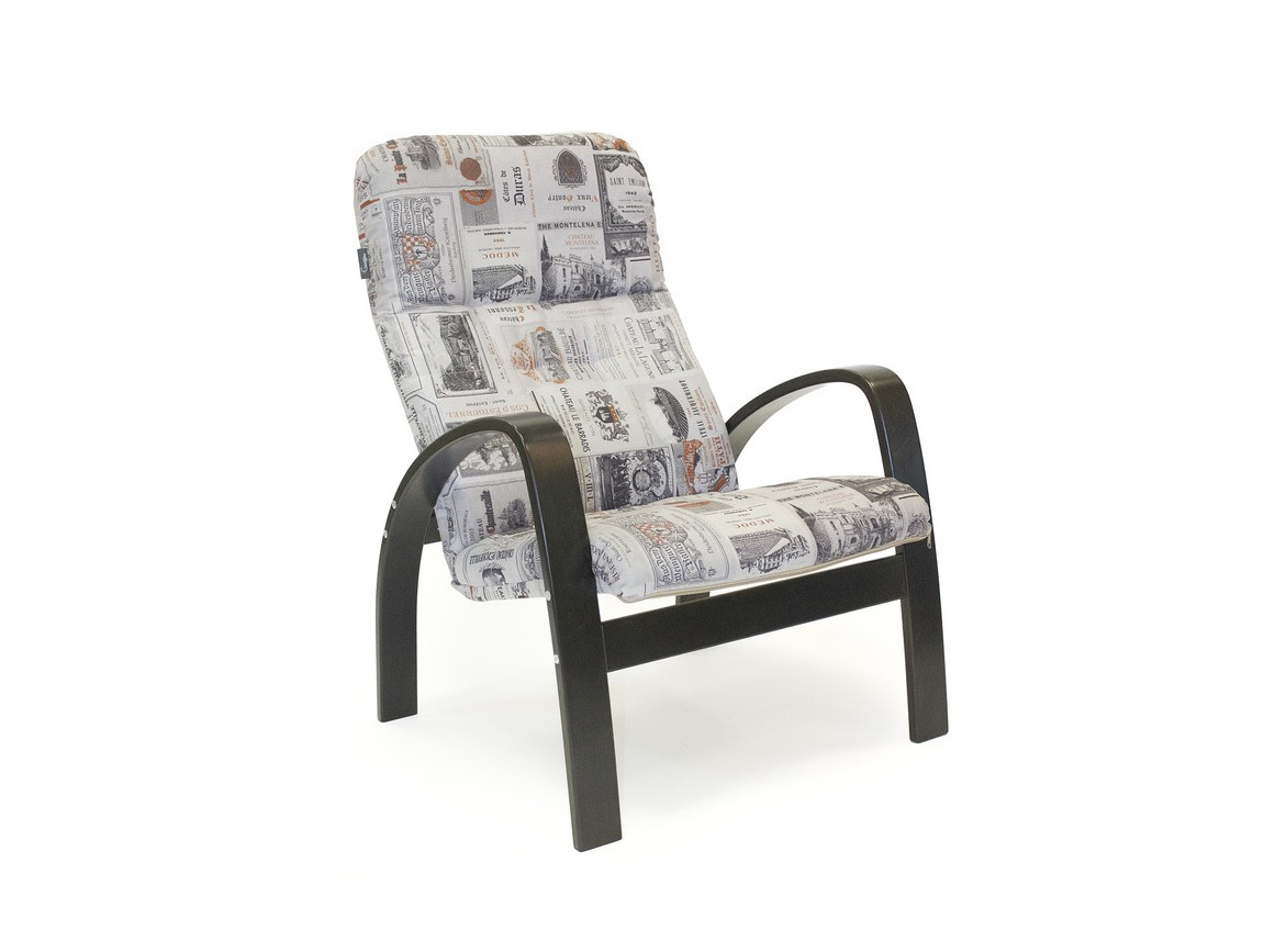 Кресло ЛадогаИнтерьерные кресла<br><br><br>Material: Текстиль<br>Ширина см: 64<br>Высота см: 97<br>Глубина см: 75