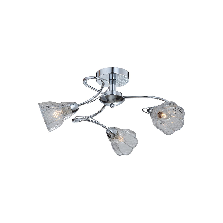 Люстра потолочная ClairetteПотолочные светильники<br>Люстра потолочная в стиле Арт-деко. Общая мощность люстры 180 W.  <br>Лампочки не входят в комплект люстры. <br>Люстра поставляется в разобранном виде и имеет в комплекте все необходимые для монтажа крепежные элементы.&amp;lt;div&amp;gt;&amp;lt;br&amp;gt;&amp;lt;/div&amp;gt;&amp;lt;div&amp;gt;&amp;lt;div style=&amp;quot;line-height: 24.9999px;&amp;quot;&amp;gt;&amp;lt;div&amp;gt;Цоколь: E14&amp;lt;/div&amp;gt;&amp;lt;div&amp;gt;Мощность лампы: 60W&amp;lt;/div&amp;gt;&amp;lt;div&amp;gt;Количество ламп: 3&amp;lt;/div&amp;gt;&amp;lt;/div&amp;gt;&amp;lt;/div&amp;gt;<br><br>Material: Стекло<br>Height см: 32<br>Diameter см: 62