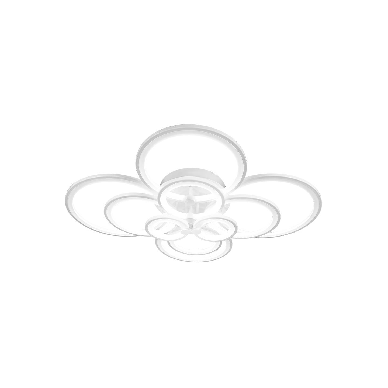 Светильник потолочный FedericaЛюстры потолочные<br>Светодиодный потолочный светильник в стиле Хай-Тек. Светильник со встроенной светодиодной матрицей общей мощностью 144 W (Эквивалент лампы накаливания 1000 W). Цветовая температура 4000-4200К. <br>Светильник поставляется в собранном виде и имеет в комплекте все необходимые для монтажа крепежные элементы.&amp;lt;div&amp;gt;&amp;lt;br&amp;gt;&amp;lt;/div&amp;gt;&amp;lt;div&amp;gt;&amp;lt;div&amp;gt;Цоколь: LED&amp;lt;/div&amp;gt;&amp;lt;div&amp;gt;Мощность лампы: 144W&amp;lt;/div&amp;gt;&amp;lt;div&amp;gt;Количество ламп: 10&amp;lt;/div&amp;gt;&amp;lt;/div&amp;gt;<br><br>Material: Металл<br>Width см: 114<br>Depth см: 103<br>Height см: 21