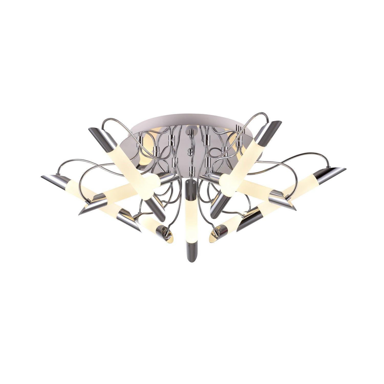 Люстра потолочная MiladaЛюстры потолочные<br>Люстра со встроенной светодиодной матрицей общей мощностью 54W (Эквивалент лампы накаливания 540 W). Цветовая температура 4000-4200К. <br>Люстра поставляется в разобранном виде и имеет в комплекте все необходимые для монтажа крепежные элементы.&amp;lt;div&amp;gt;&amp;lt;br&amp;gt;&amp;lt;/div&amp;gt;&amp;lt;div&amp;gt;&amp;lt;div&amp;gt;Цоколь: LED&amp;lt;/div&amp;gt;&amp;lt;div&amp;gt;Мощность лампы: 54W&amp;lt;/div&amp;gt;&amp;lt;div&amp;gt;Количество ламп: 9&amp;lt;/div&amp;gt;&amp;lt;/div&amp;gt;<br><br>Material: Металл<br>Height см: 27<br>Diameter см: 84