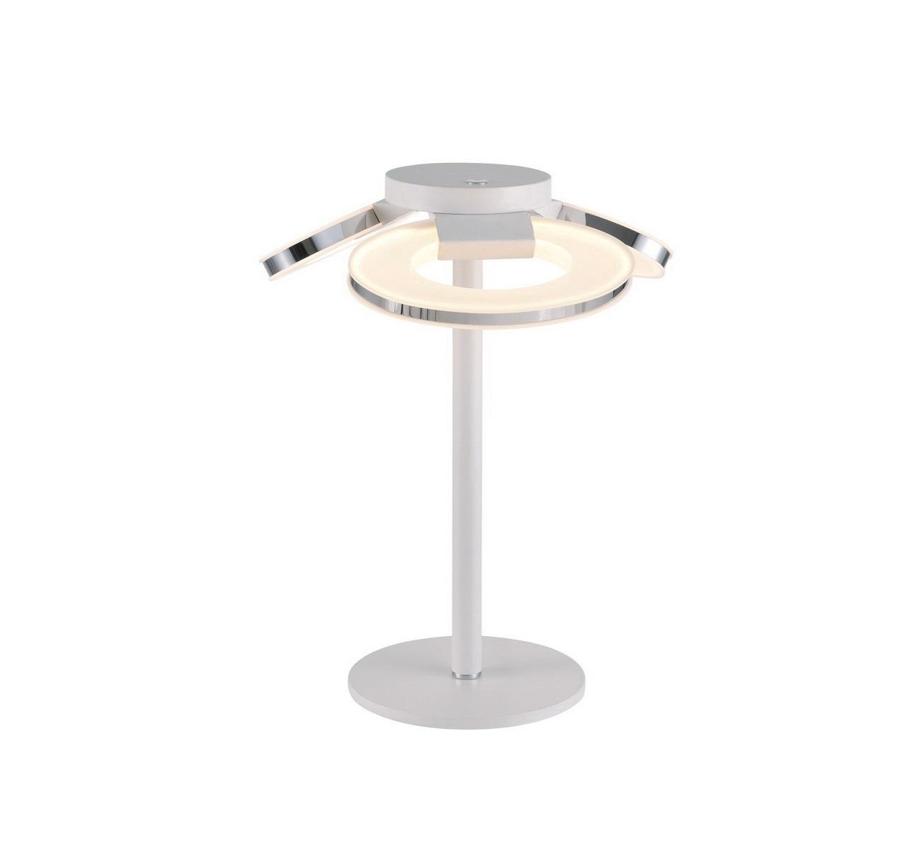 Настольные лампы CeliaДекоративные лампы<br>Настольная светодиодная лампа в стиле Хай-Тек. Лампа со встроенной светодиодной матрицей общей мощностью 48 W (Эквивалент лампы накаливания 312 W). Цветовая температура 4000-4200К. <br>Лампа поставляется в разобранном виде и имеет в комплекте все необходимые для монтажа крепежные элементы.&amp;lt;div&amp;gt;&amp;lt;br&amp;gt;&amp;lt;/div&amp;gt;&amp;lt;div&amp;gt;&amp;lt;div&amp;gt;Цоколь: LED&amp;lt;/div&amp;gt;&amp;lt;div&amp;gt;Мощность лампы: 48W&amp;lt;/div&amp;gt;&amp;lt;div&amp;gt;Количество ламп: 3&amp;lt;/div&amp;gt;&amp;lt;/div&amp;gt;<br><br>Material: Металл<br>Height см: 44<br>Diameter см: 35