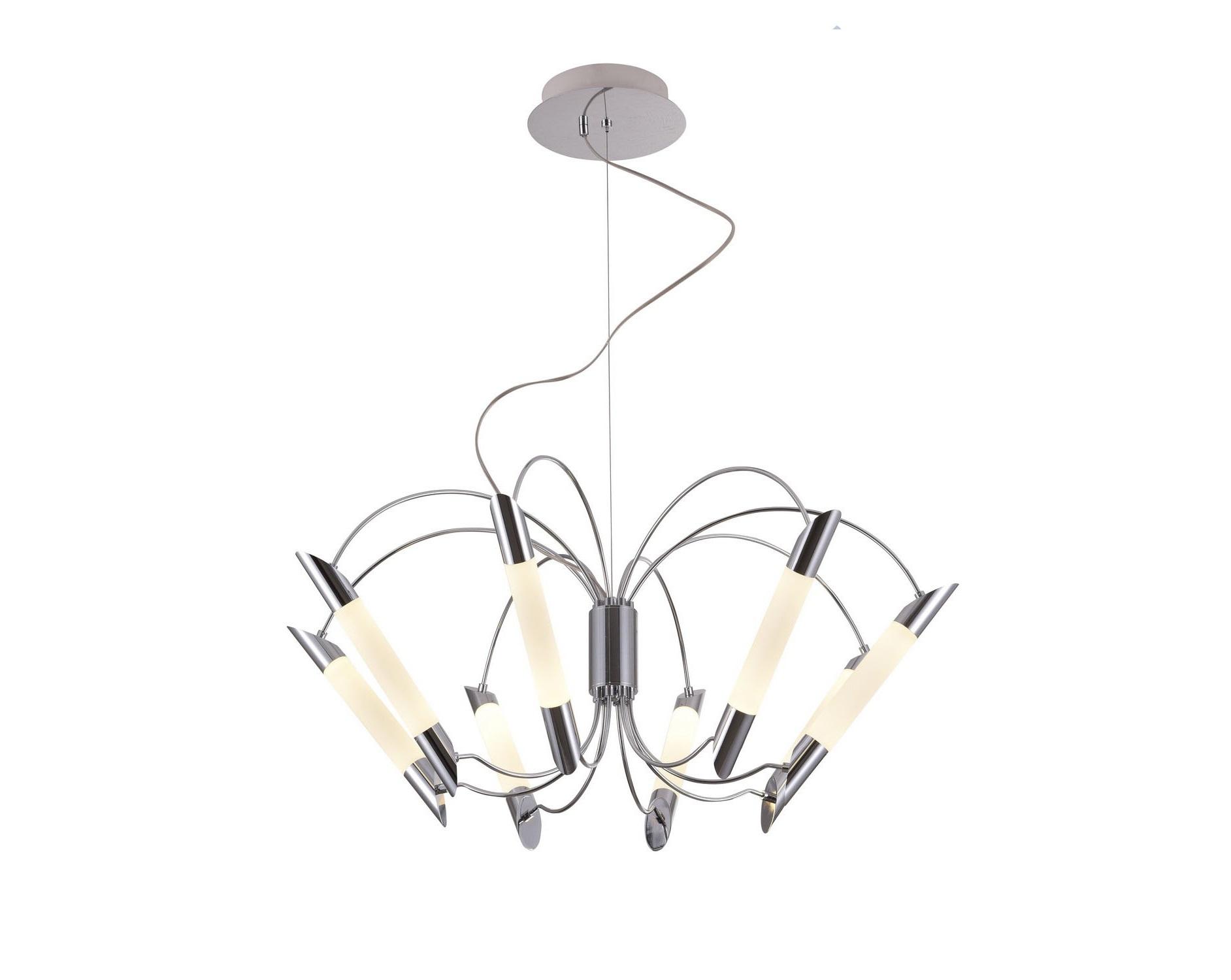 Люстра подвесная MiladaЛюстры подвесные<br>Люстра со встроенной светодиодной матрицей общей мощностью 48W (Эквивалент лампы накаливания 480 W). Цветовая температура 4000-4200К. <br>Люстра поставляется в собранном виде и имеет в комплекте все необходимые для монтажа крепежные элементы.&amp;lt;div&amp;gt;&amp;lt;br&amp;gt;&amp;lt;/div&amp;gt;&amp;lt;div&amp;gt;&amp;lt;div&amp;gt;Цоколь: LED&amp;lt;/div&amp;gt;&amp;lt;div&amp;gt;Мощность лампы: 48W&amp;lt;/div&amp;gt;&amp;lt;div&amp;gt;Количество ламп: 8&amp;lt;/div&amp;gt;&amp;lt;/div&amp;gt;<br><br>Material: Металл<br>Height см: 100<br>Diameter см: 82