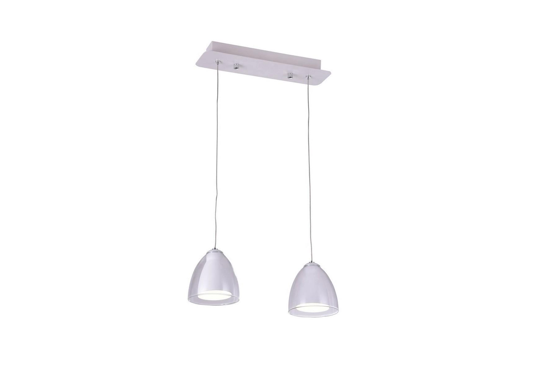 Светильник подвесной MirellaПодвесные светильники<br>Светодиодный подвесной светильник в стиле Хай-Тек. Светильник со встроенной светодиодной матрицей общей мощностью 6W (Эквивалент лампы накаливания 45 W). Цветовая температура 4000-4200К. <br>Высоту подвеса светильника можно регулировать от 20см до 100см.<br>Светильник поставляется в собранном виде и имеет в комплекте все необходимые для монтажа крепежные элементы.&amp;lt;div&amp;gt;&amp;lt;br&amp;gt;&amp;lt;/div&amp;gt;&amp;lt;div&amp;gt;&amp;lt;div&amp;gt;Цоколь: LED&amp;lt;/div&amp;gt;&amp;lt;div&amp;gt;Мощность лампы: 6W&amp;lt;/div&amp;gt;&amp;lt;div&amp;gt;Количество ламп: 2&amp;lt;/div&amp;gt;&amp;lt;/div&amp;gt;<br><br>Material: Металл<br>Width см: 35<br>Depth см: 10<br>Height см: 100