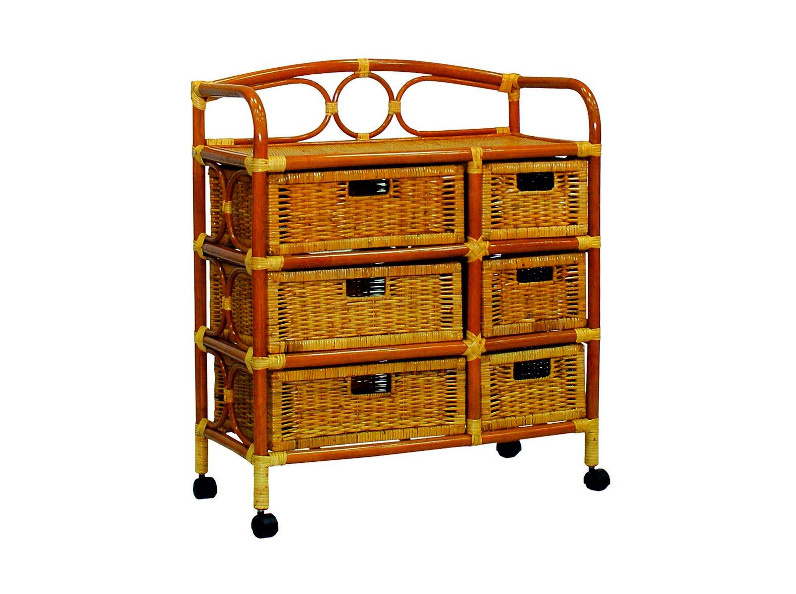 Комод с плетеными ящикамиБельевые комоды<br>Ротанг — гибкое и прочное растение, мебель из ротанга может выдерживать большой вес. Важным достоинством комода из ротанга является его легкость.&amp;lt;div&amp;gt;&amp;lt;br&amp;gt;&amp;lt;/div&amp;gt;&amp;lt;div&amp;gt;Цвет: коньячный&amp;lt;/div&amp;gt;&amp;lt;div&amp;gt;Особенности:  на колесиках&amp;lt;/div&amp;gt;&amp;lt;div&amp;gt;Вес: 11 кг&amp;lt;/div&amp;gt;<br><br>Material: Ротанг<br>Width см: 75<br>Depth см: 37<br>Height см: 88