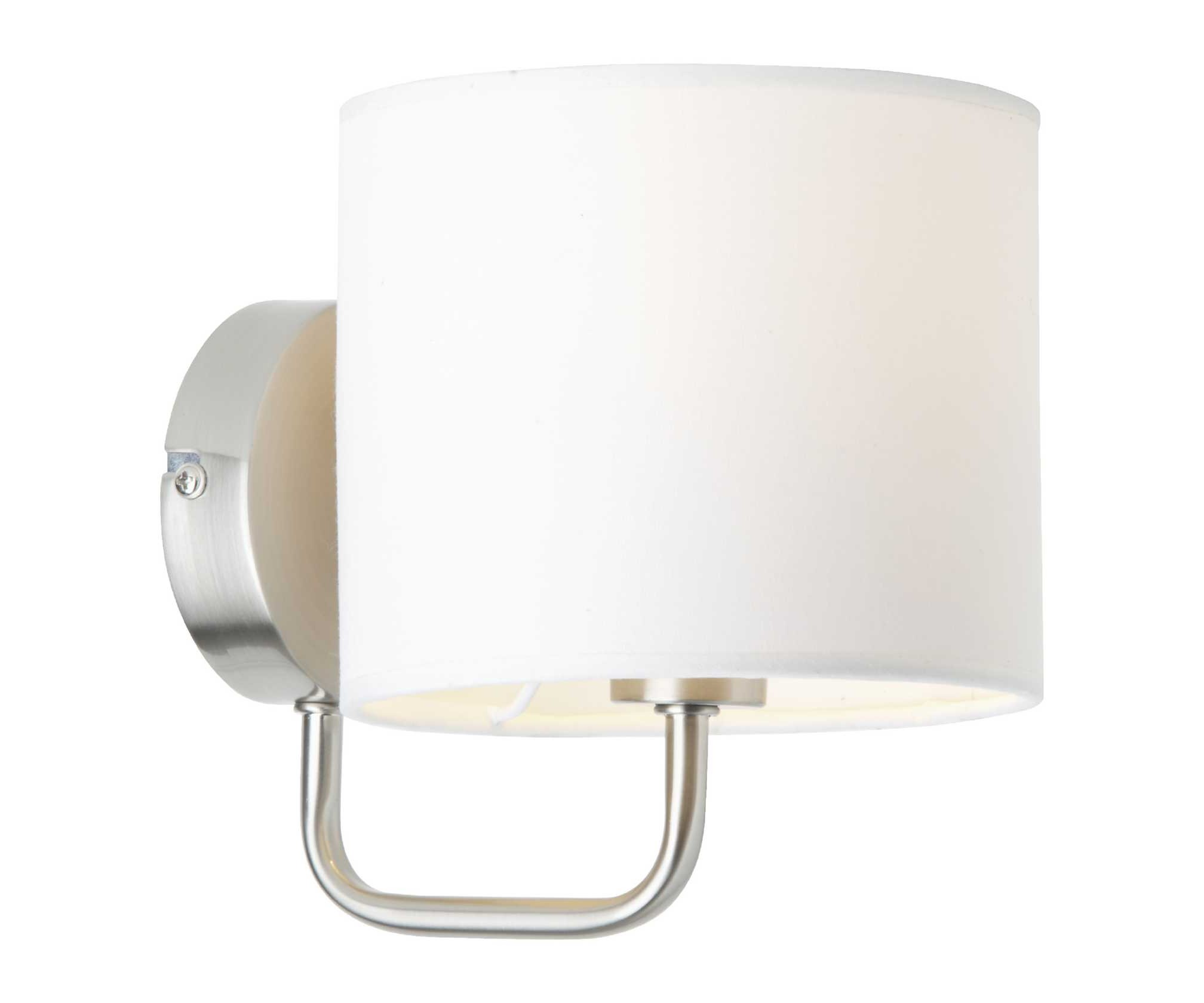 Светильник настенный SandraБра<br>&amp;lt;div&amp;gt;Цоколь: E14&amp;lt;/div&amp;gt;&amp;lt;div&amp;gt;Мощность лампы: 40W&amp;lt;/div&amp;gt;&amp;lt;div&amp;gt;Количество ламп: 1&amp;lt;/div&amp;gt;&amp;lt;div&amp;gt;Наличие ламп: отсутствуют&amp;lt;/div&amp;gt;<br><br>Material: Текстиль<br>Width см: 18<br>Depth см: 15<br>Height см: 18,5