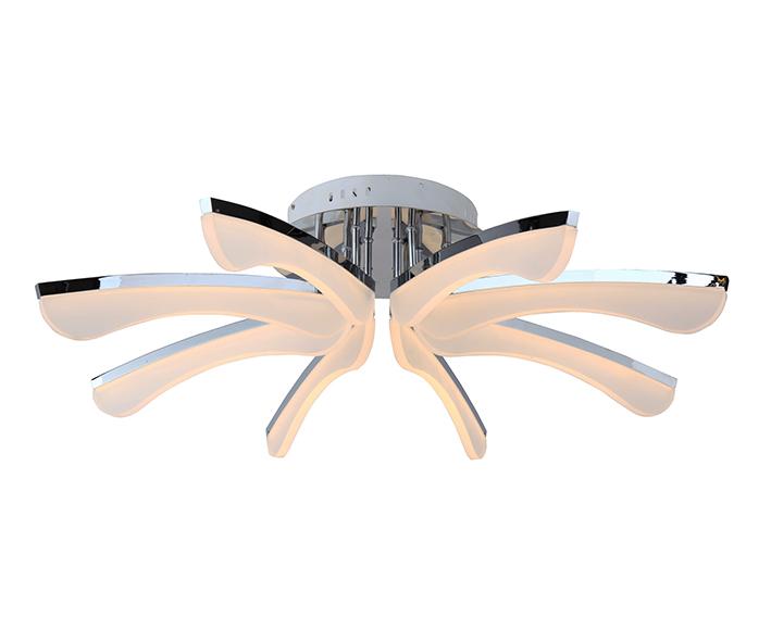 Светильник РИВАЛюстры потолочные<br>&amp;lt;div&amp;gt;Цоколь: LED&amp;amp;nbsp;&amp;lt;/div&amp;gt;&amp;lt;div&amp;gt;Мощность лампы: 8W&amp;lt;/div&amp;gt;&amp;lt;div&amp;gt;Количество ламп: 8&amp;lt;/div&amp;gt;&amp;lt;div&amp;gt;Световая температура: 3500K&amp;lt;/div&amp;gt;<br><br>Material: Алюминий<br>Height см: 20<br>Diameter см: 90