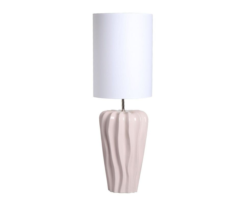 Настольная  лампаДекоративные лампы<br>Дизайнерская лампа высокого качества, выполнена из экологически чистой белой глины по уникальной технологии. Имея свой модный и неповторимый стиль, она создана специально для того, чтобы наполнить дом уютом и элегантностью.&amp;lt;div&amp;gt;&amp;lt;br&amp;gt;&amp;lt;/div&amp;gt;&amp;lt;div&amp;gt;&amp;lt;div&amp;gt;Вид цоколя: E27&amp;lt;/div&amp;gt;&amp;lt;div&amp;gt;Мощность: 60W&amp;lt;/div&amp;gt;&amp;lt;div&amp;gt;Количество ламп: 1&amp;lt;/div&amp;gt;&amp;lt;/div&amp;gt;<br><br>Material: Керамика<br>Height см: 76<br>Diameter см: 25