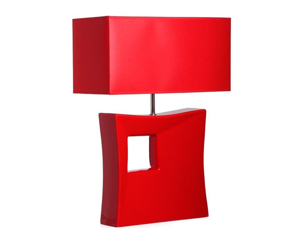 Настольная  лампаДекоративные лампы<br>Яркая лампа очень насыщенного красного цвета. Станет смелым самостоятельным акцентом в интерьере страстных натур. В коллекции также представлена декоративная ваза 502-1176, повторяющая своими очертаниями керамическое основание лампы.&amp;lt;div&amp;gt;&amp;lt;br&amp;gt;&amp;lt;/div&amp;gt;&amp;lt;div&amp;gt;&amp;lt;div&amp;gt;Вид цоколя: E27&amp;lt;/div&amp;gt;&amp;lt;div&amp;gt;Мощность: 60W&amp;lt;/div&amp;gt;&amp;lt;div&amp;gt;Количество ламп: 1&amp;lt;/div&amp;gt;&amp;lt;/div&amp;gt;<br><br>Material: Кашемир<br>Width см: 40<br>Depth см: 18.5<br>Height см: 55