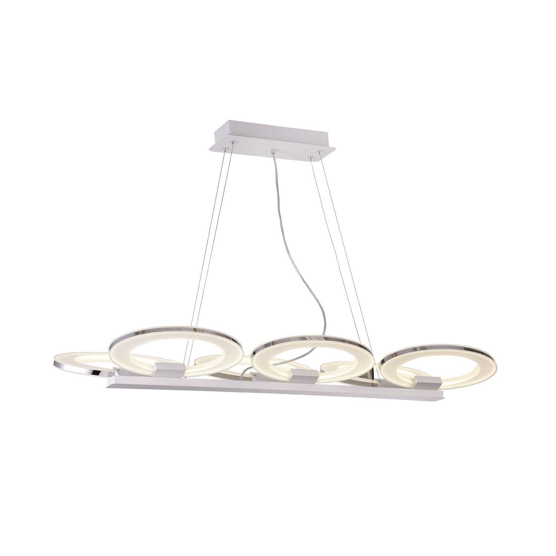 Светильник подвесной ArienПодвесные светильники<br>Светодиодный подвесной светильник в стиле хайтек. Светильник поставляется в собранном виде и имеет в комплекте все необходимые для монтажа крепежные элементы.&amp;lt;div&amp;gt;&amp;lt;br&amp;gt;&amp;lt;/div&amp;gt;&amp;lt;div&amp;gt;&amp;lt;div&amp;gt;Вид цоколя: LED&amp;lt;/div&amp;gt;&amp;lt;div&amp;gt;Мощность лампы: 15W (эквивалент 100W)&amp;lt;/div&amp;gt;&amp;lt;div&amp;gt;Количество ламп: 6&amp;lt;/div&amp;gt;&amp;lt;div&amp;gt;Наличие ламп: да&amp;lt;br&amp;gt;&amp;lt;span style=&amp;quot;line-height: 24.9999px;&amp;quot;&amp;gt;Цветовая температура: 4000-4200К&amp;lt;/span&amp;gt;&amp;lt;br&amp;gt;&amp;lt;/div&amp;gt;&amp;lt;/div&amp;gt;<br><br>Material: Металл<br>Width см: 118<br>Depth см: 36<br>Height см: 100