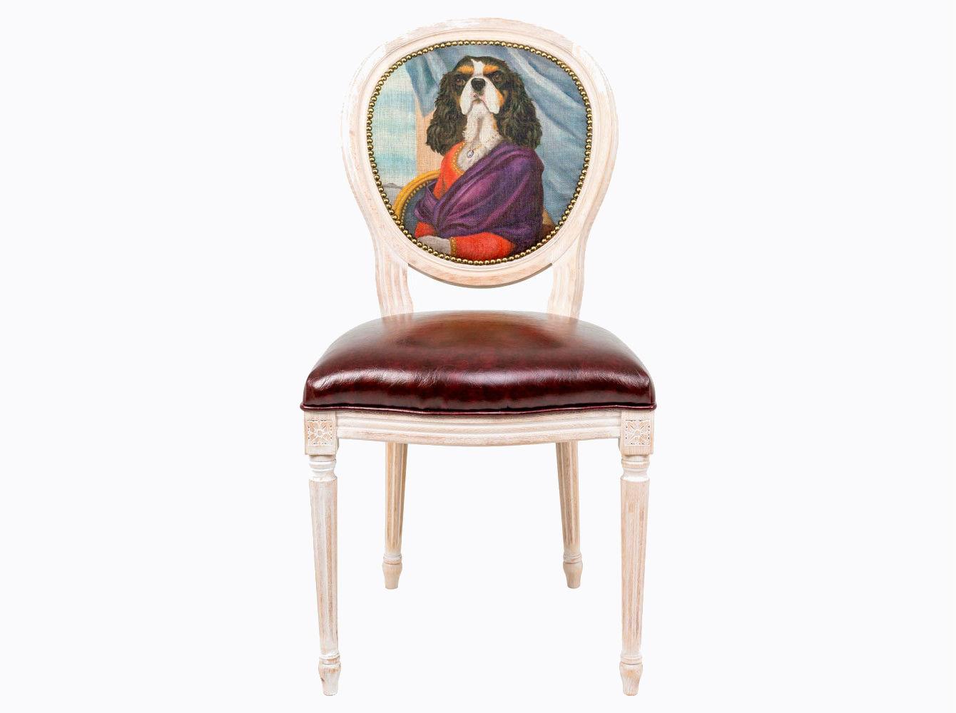 Стул «Музейный экспонат», версия 38Обеденные стулья<br>Стул &amp;quot;Музейный экспонат&amp;quot; - универсальное, но отборное решение гостиной и детской комнат, столовой, холла, кабинета и спальни. <br>Дизайн создан эффектом экстравагантных сочетаний. Королевский силуэт эпохи Луи-Филиппа украсил рисунок в жанре современного анимализма, подражающего дворцовым сюжетам эпохи Возрождения.<br>Корпус стула изготовлен из натурального бука. В дизайне &amp;quot;Музейный экспонат&amp;quot; резьба играет ведущую роль: стул украшен вычурными желобками и цветочными узорами, выточенными с ювелирной меткостью.  Благородная фактура натурального дерева вселяют атмосферу тепла, спокойствия и уюта. <br>Комфортабельность, прочность и долговечность сиденья обеспечены подвеской из эластичных ремней. <br>Обивка оснащена тефлоновым покрытием против пятен. <br>Не упустите возможности обладания поистине уникальной дизайнерской мебелью, - коллекция &amp;quot;Музейный экспонат&amp;quot; выпущена лимитированными экземплярами.<br>&amp;lt;div&amp;gt;&amp;lt;br&amp;gt;&amp;lt;/div&amp;gt;&amp;lt;div&amp;gt;Каркас - натуральное дерево бука, обивка сиденья и оборотной стороны спинки - эко-кожа, обивка спинки: 29% лен, 9 % хлопок, 72% полиэстер&amp;lt;br&amp;gt;&amp;lt;/div&amp;gt;<br><br>Material: Дерево<br>Width см: 55<br>Depth см: 50<br>Height см: 95