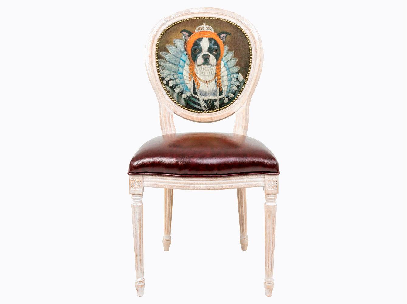 Стул «Музейный экспонат», версия 32Обеденные стулья<br>Стул &amp;quot;Музейный экспонат&amp;quot; - универсальное, но отборное решение гостиной и детской комнат, столовой, холла, кабинета и спальни. Корпус стула изготовлен из натурального бука. Среди европейских пород бук считается самым прочным и долговечным материалом. По эксклюзивному дизайну &amp;quot;Объекта мечты&amp;quot; корпусы стульев серии &amp;quot;Музейный экспонат&amp;quot; выточены, брашированы и патинированы в Италии. <br>В дизайне &amp;quot;Музейный экспонат&amp;quot; резьба играет ведущую роль: стул украшен вычурными желобками и цветочными узорами, выточенными с ювелирной меткостью. <br>В угоду моде &amp;quot;шебби-шик&amp;quot;, благородная фактура натурального дерева подчеркнута рукописной патиной. Штрихи старины обладают специфическим обаянием и теплом.<br>Комфортабельность, прочность и долговечность сиденья обеспечены подвеской из эластичных ремней. Обивка оснащена тефлоновым покрытием против пятен.<br>Не упустите возможности обладания поистине уникальной дизайнерской мебелью, - коллекция &amp;quot;Музейный экспонат&amp;quot; выпущена лимитированными экземплярами.&amp;amp;nbsp;&amp;lt;div&amp;gt;&amp;lt;br&amp;gt;&amp;lt;/div&amp;gt;&amp;lt;div&amp;gt;Каркас - натуральное дерево бука, обивка сиденья и оборотной стороны спинки - эко-кожа, обивка спинки: 29% лен, 9 % хлопок, 72% полиэстер&amp;lt;br&amp;gt;&amp;lt;/div&amp;gt;<br><br>Material: Дерево<br>Width см: 55<br>Depth см: 50<br>Height см: 95