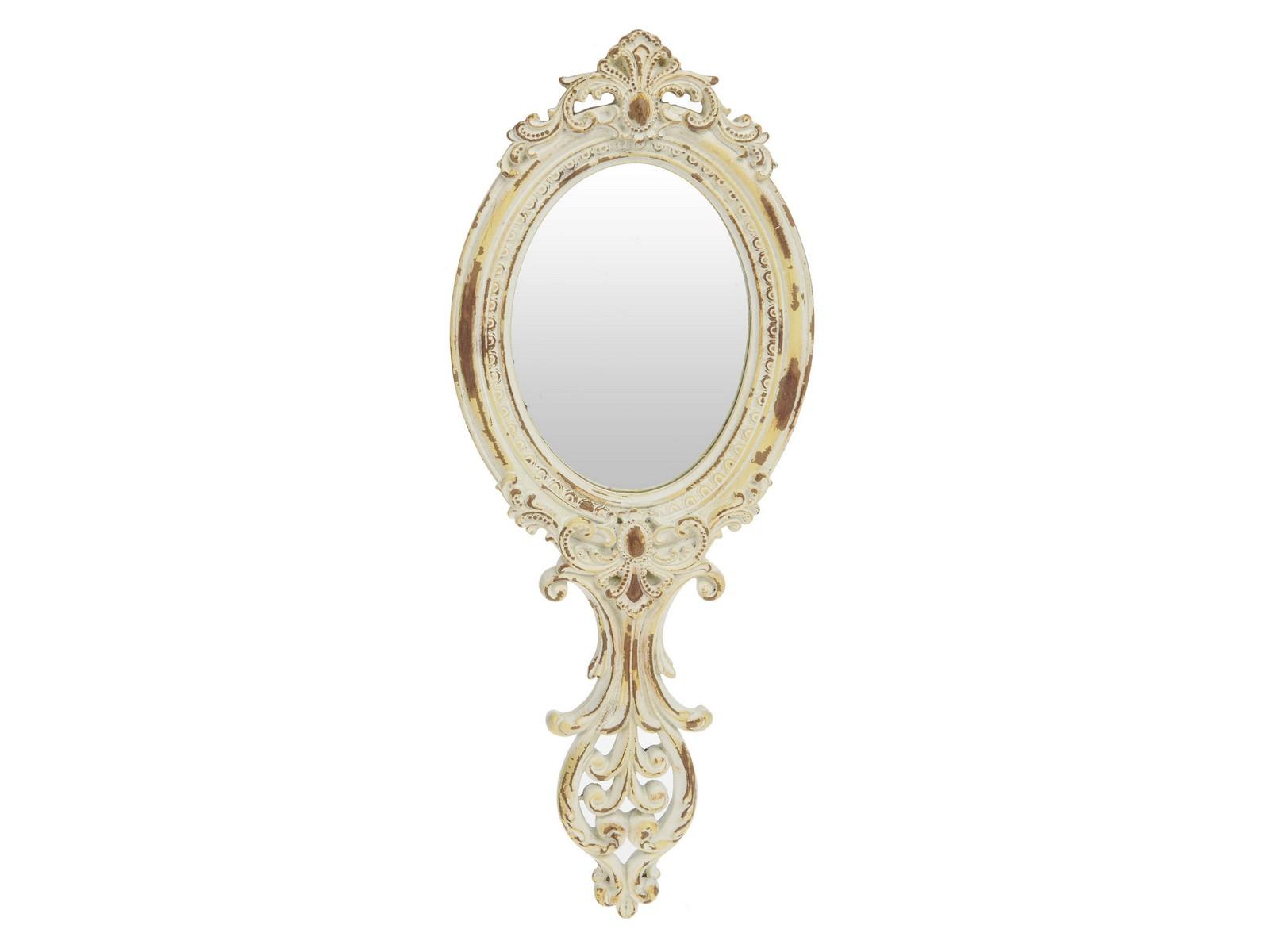 Зеркало Dreaming HeartНастенные зеркала<br><br><br>Material: Полистоун<br>Width см: 12<br>Depth см: 2<br>Height см: 30
