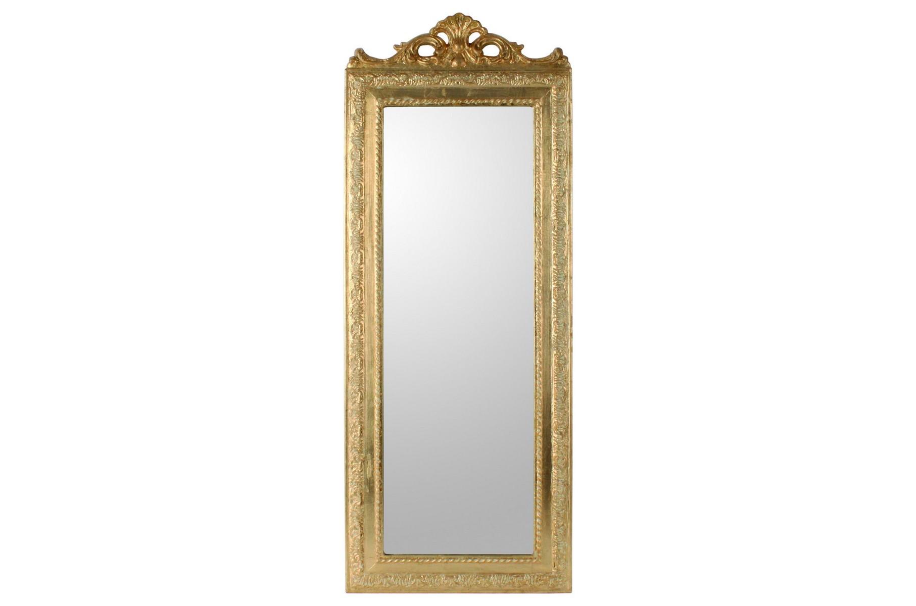 Настенное зеркало RomanceНастенные зеркала<br><br><br>Material: Полистоун<br>Width см: 35<br>Depth см: 2<br>Height см: 90