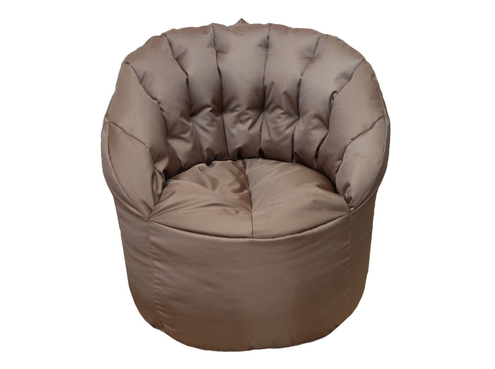 Уличное кресло-пуф MokkoКресла для сада<br>Очень комфортное и  легкое  кресло-пуф станет неотъемлемой частью вашего интерьера как дома так и на улице. Сиденье и спинка кресла великолепно поддерживают и принимают форму тела, обеспечивая комфортный отдых. Читайте книгу, общайтесь с друзьями или просто наслаждайтесь лучами летнего солнца удобно разместившись в этом кресле!  Оно сшито из очень плотной ткани с водоотталкивающим покрытием с внешней стороны, поэтому идеально подойдет для уличного декора.При загрязнении его достаточно протереть мокрой салфеткой.&amp;lt;div&amp;gt;&amp;lt;br&amp;gt;&amp;lt;/div&amp;gt;&amp;lt;div&amp;gt;Цвет:&amp;amp;nbsp;коричнево-золотистый&amp;lt;/div&amp;gt;&amp;lt;div&amp;gt;Материал наполнителя: пенополистирол&amp;lt;br&amp;gt;&amp;lt;/div&amp;gt;<br><br>Material: Текстиль<br>Width см: 70<br>Depth см: 35<br>Height см: 80