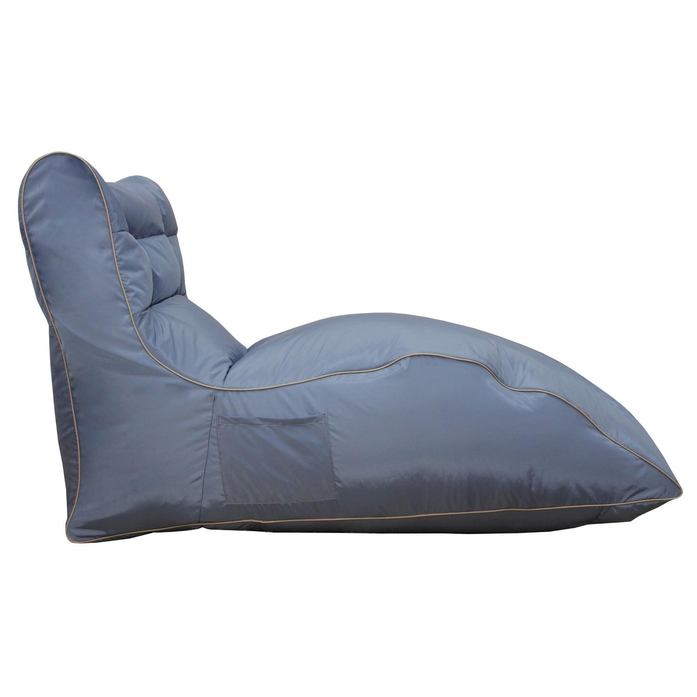 Кресло-лежак CozyКресла-мешки<br>&amp;lt;div&amp;gt;Самый приятный цвет и самая удобная форма - это &amp;amp;nbsp;бескаркасное кресло пригодится и дома, и на даче.&amp;lt;/div&amp;gt;&amp;lt;div&amp;gt;Любимый предмет интерьера у детей и небольших собачек. Оно сшито из очень плотной ткани с водоотталкивающим покрытием с внешней стороны, поэтому при загрязнении его достаточно протереть мокрой салфеткой.&amp;lt;/div&amp;gt;&amp;lt;div&amp;gt;&amp;lt;br&amp;gt;&amp;lt;/div&amp;gt;&amp;lt;div&amp;gt;Цвет: серо-сиреневый&amp;lt;/div&amp;gt;<br><br>Material: Текстиль<br>Length см: 130<br>Width см: 80<br>Height см: 60